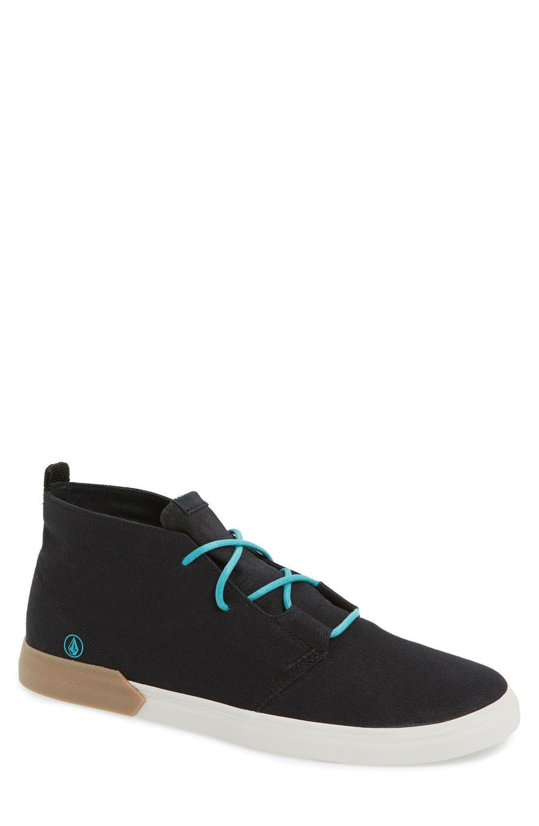 Alternate Image 1 Selected - Volcom 'De Fray' High Top Sneaker
