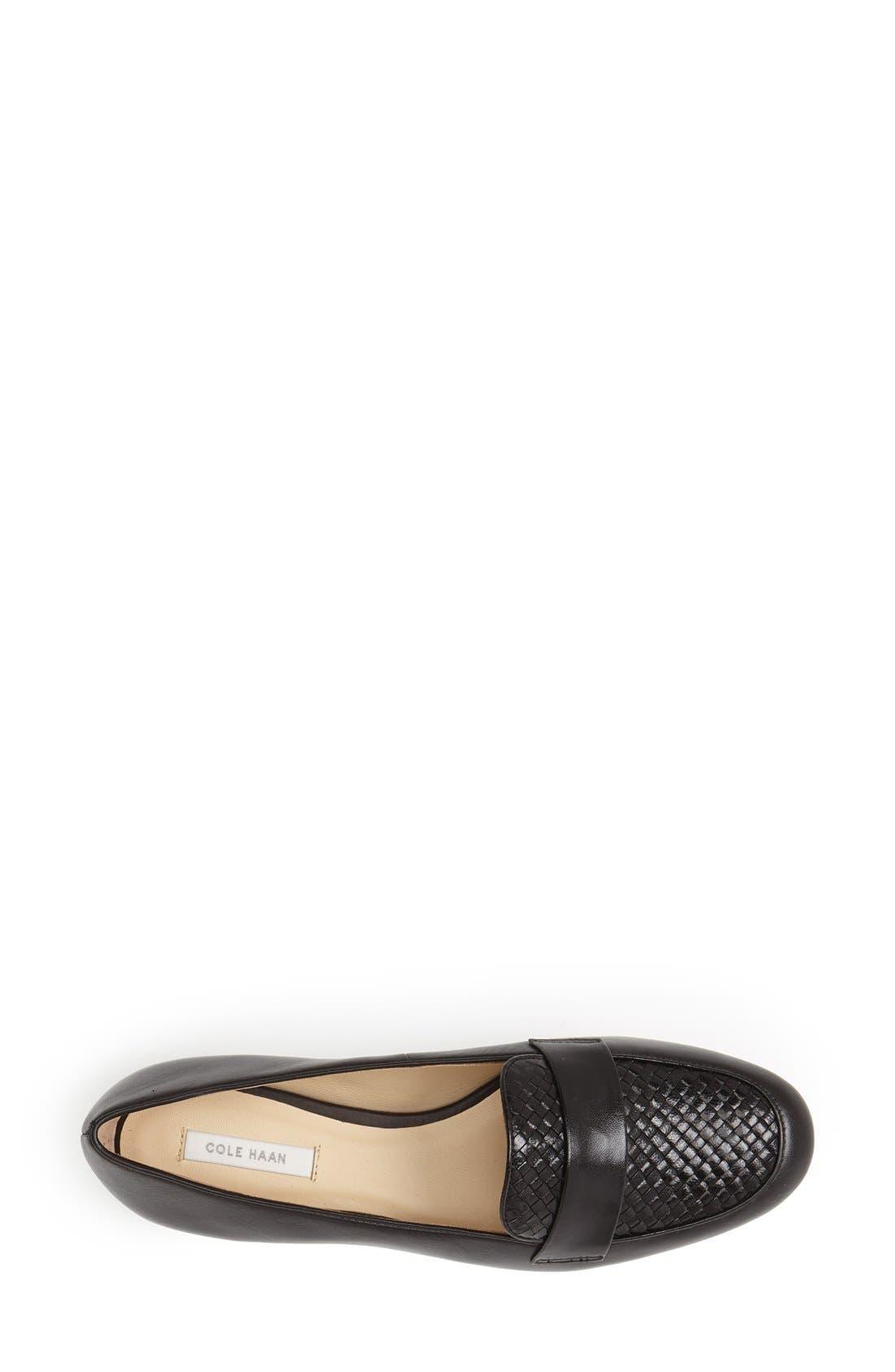 Alternate Image 3  - Cole Haan 'Dakota' Woven Leather Loafer (Women)