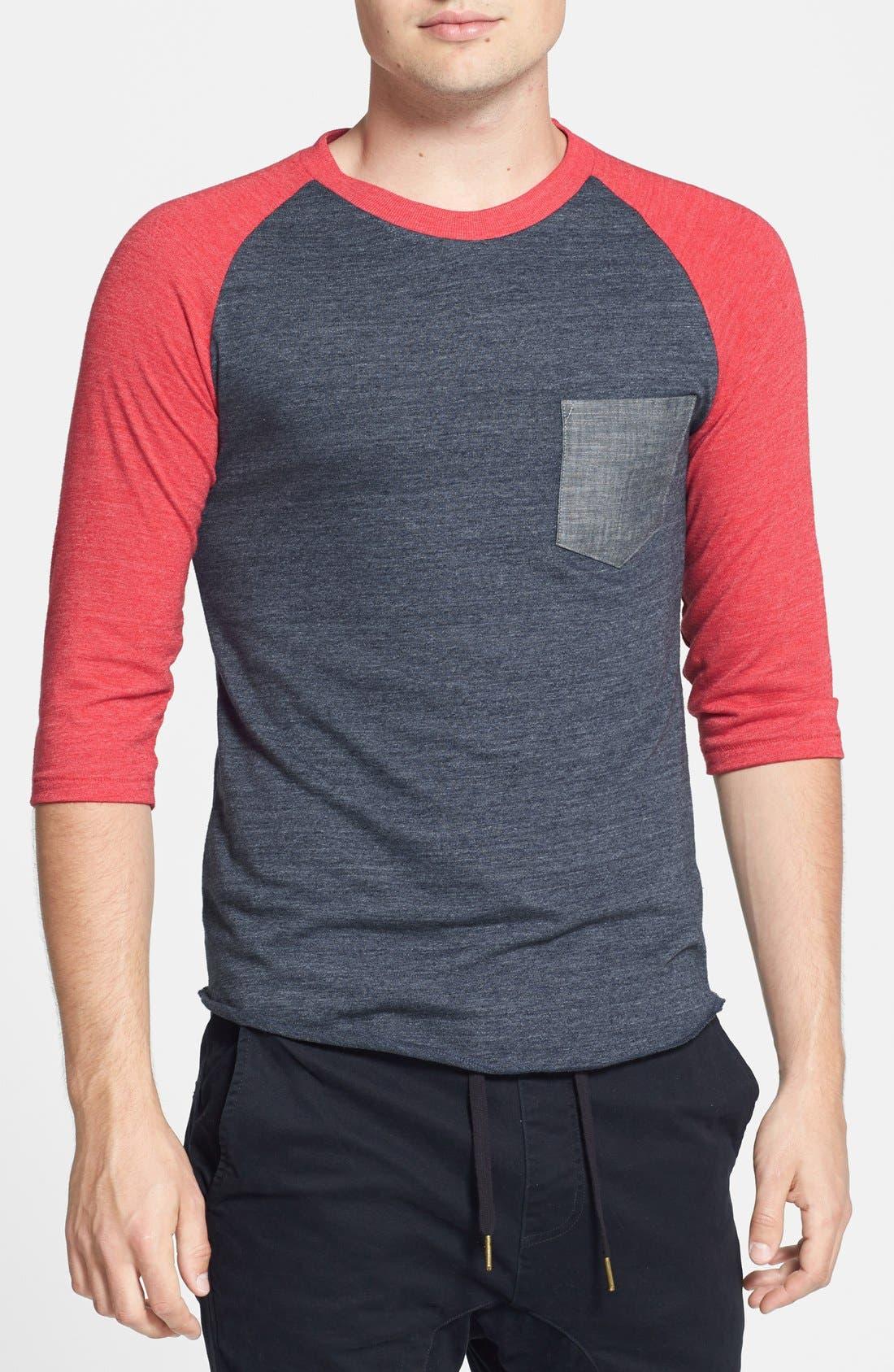 Alternate Image 1 Selected - Alternative Raglan Baseball T-Shirt