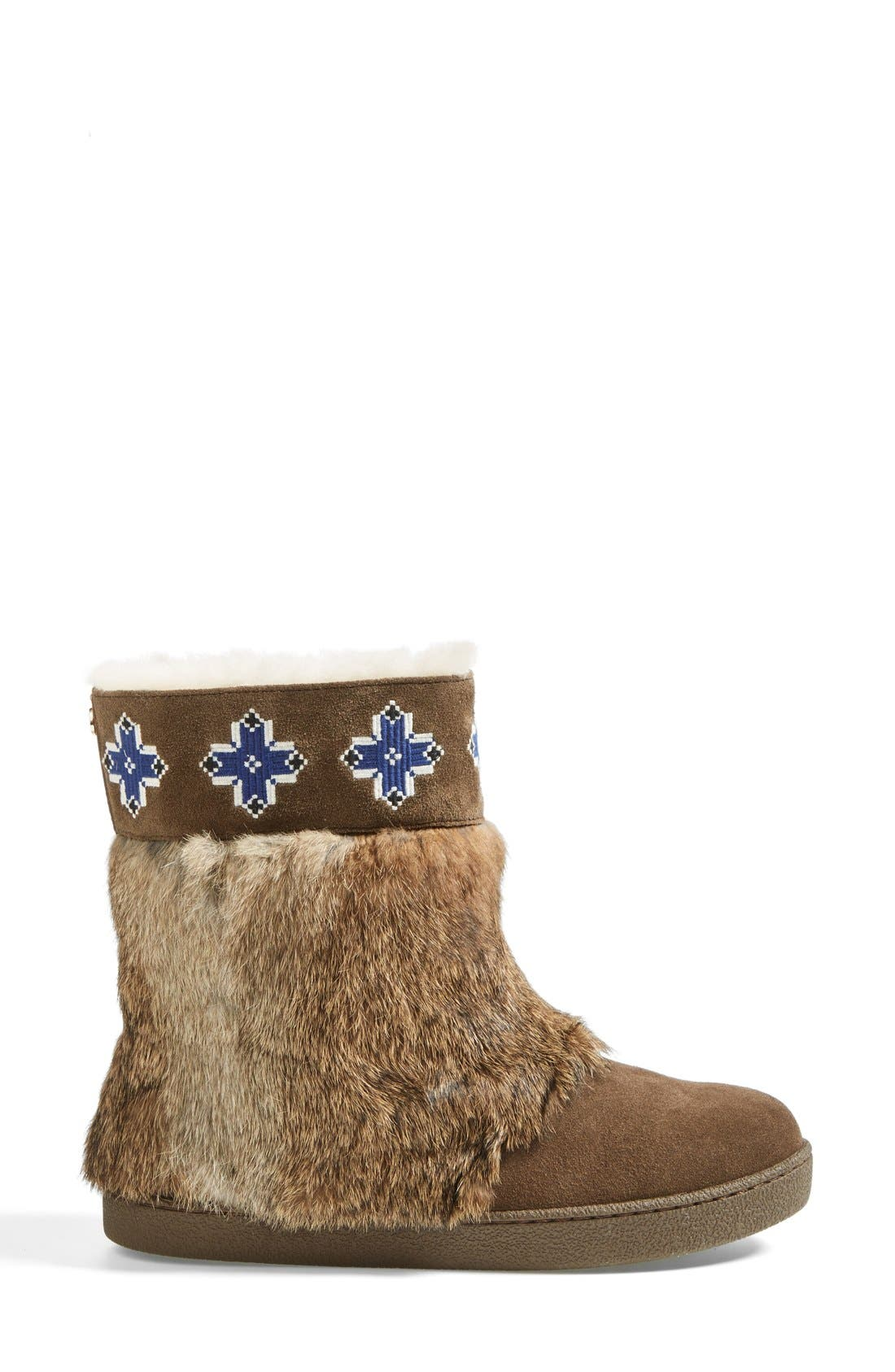 Alternate Image 4  - Tory Burch 'Lafayette' Embroidered Bootie