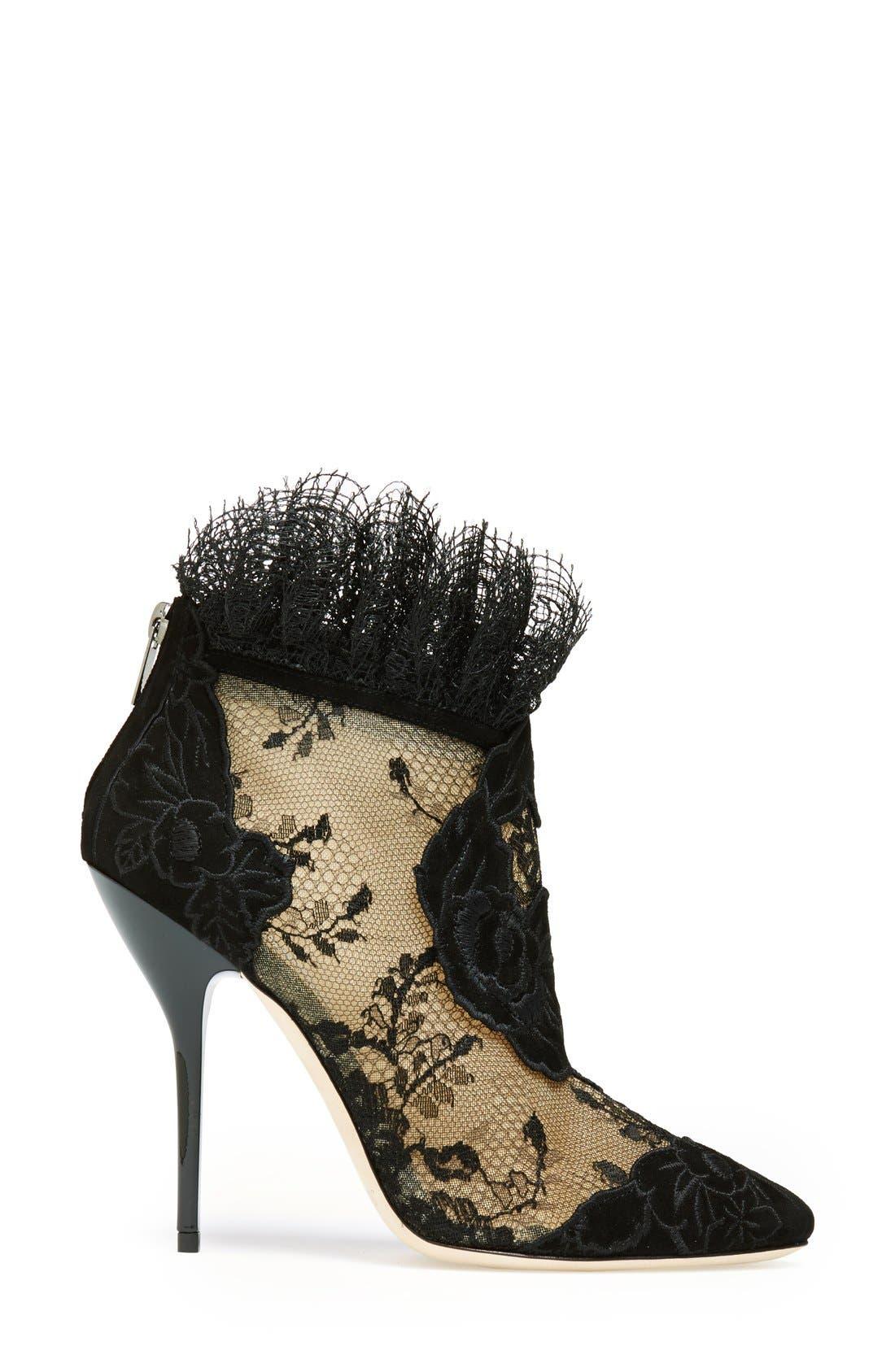 Alternate Image 4  - Jimmy Choo 'Kamaris' Lace Ankle Bootie (Women)