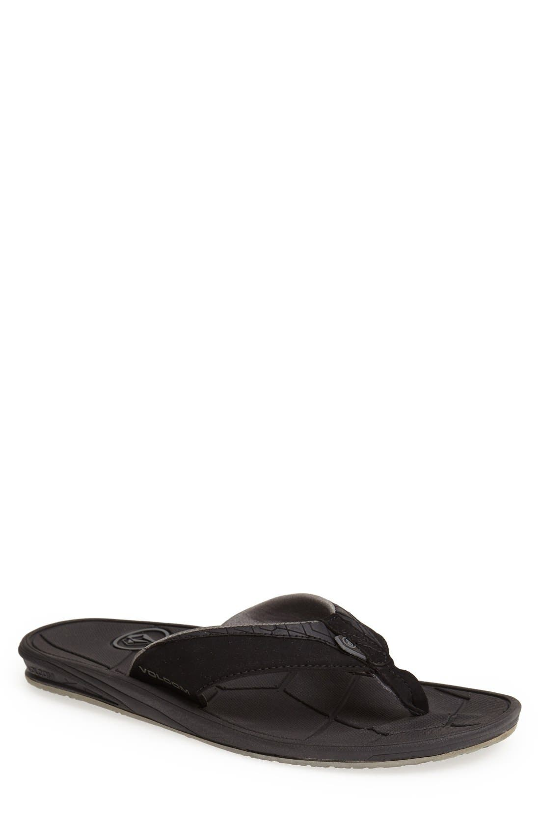 Alternate Image 1 Selected - Volcom 'Rift' Flip Flop (Men)
