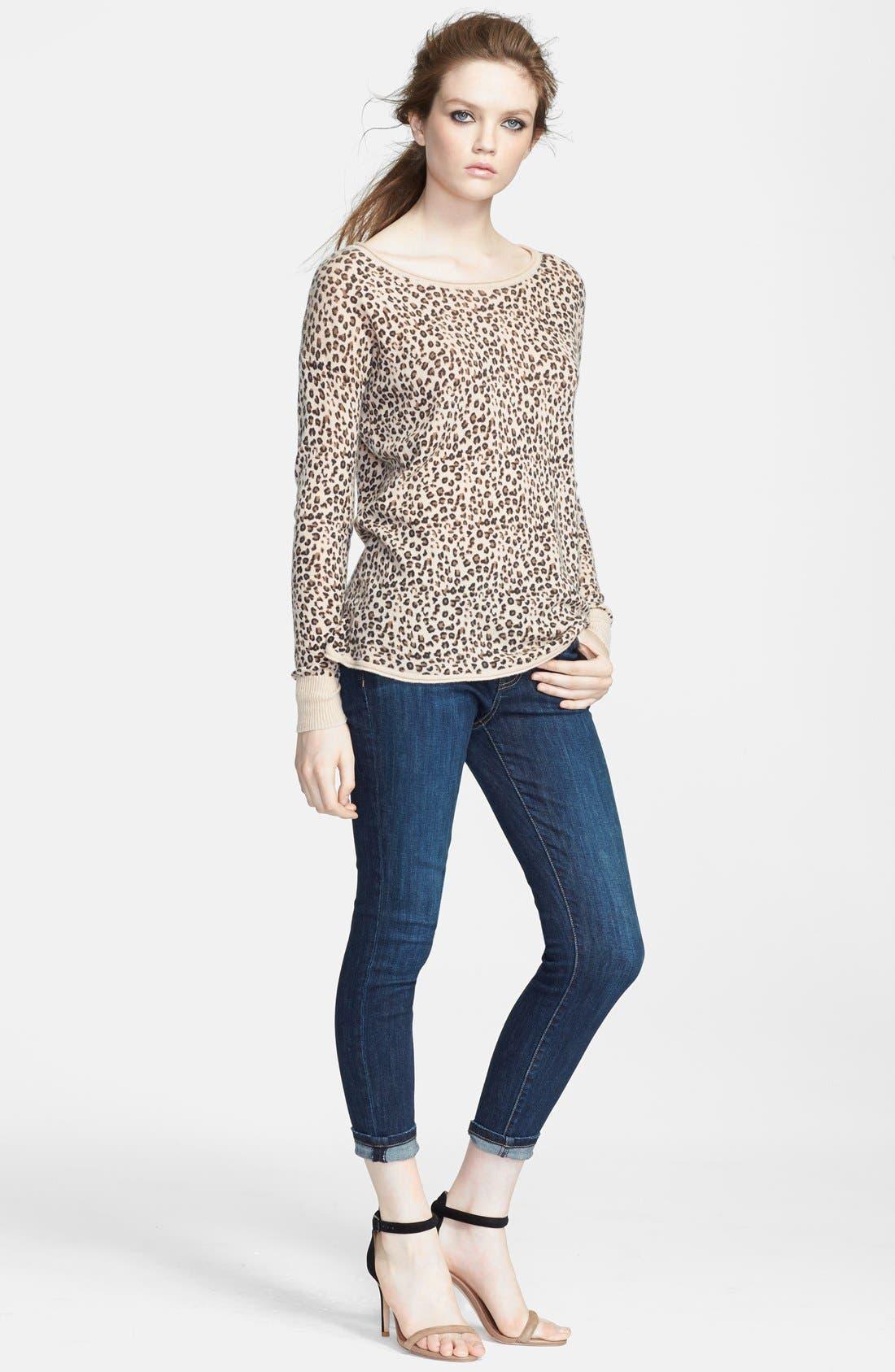 Alternate Image 3  - Current/Elliott 'The Stiletto' Skinny Jeans (Alumni)