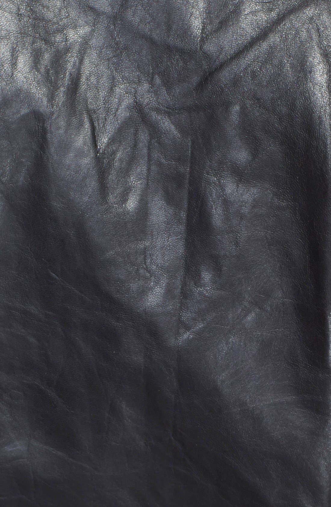 Alternate Image 3  - Rick Owens Band Collar Biker Jacket