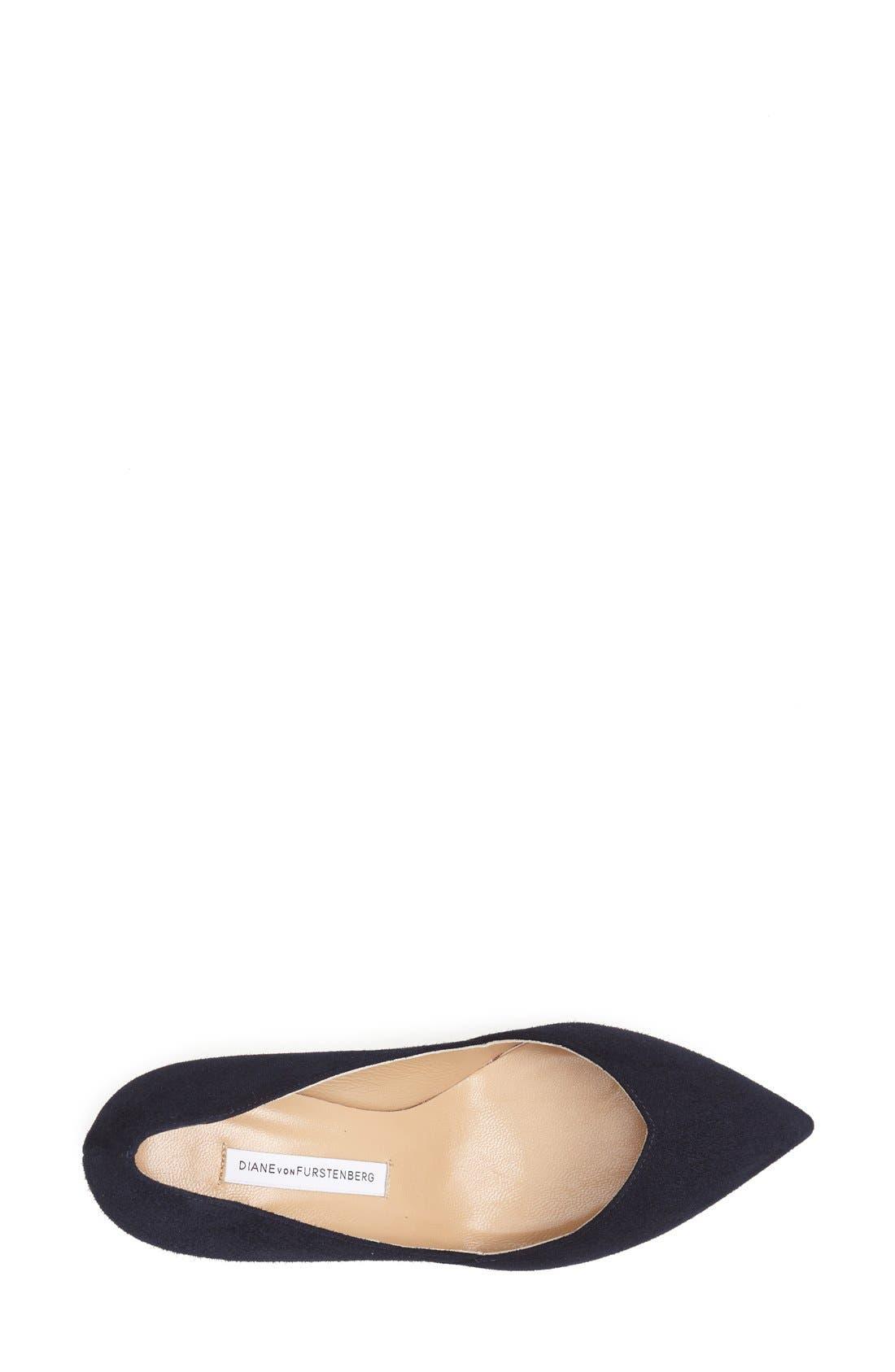 Alternate Image 3  - Diane von Furstenberg 'Hilda' Pointy Toe Pump (Women)