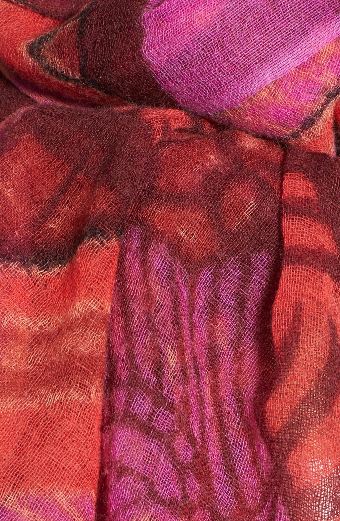 Alternate Image 3  - Nordstrom 'Belle Nuit' Wool Scarf