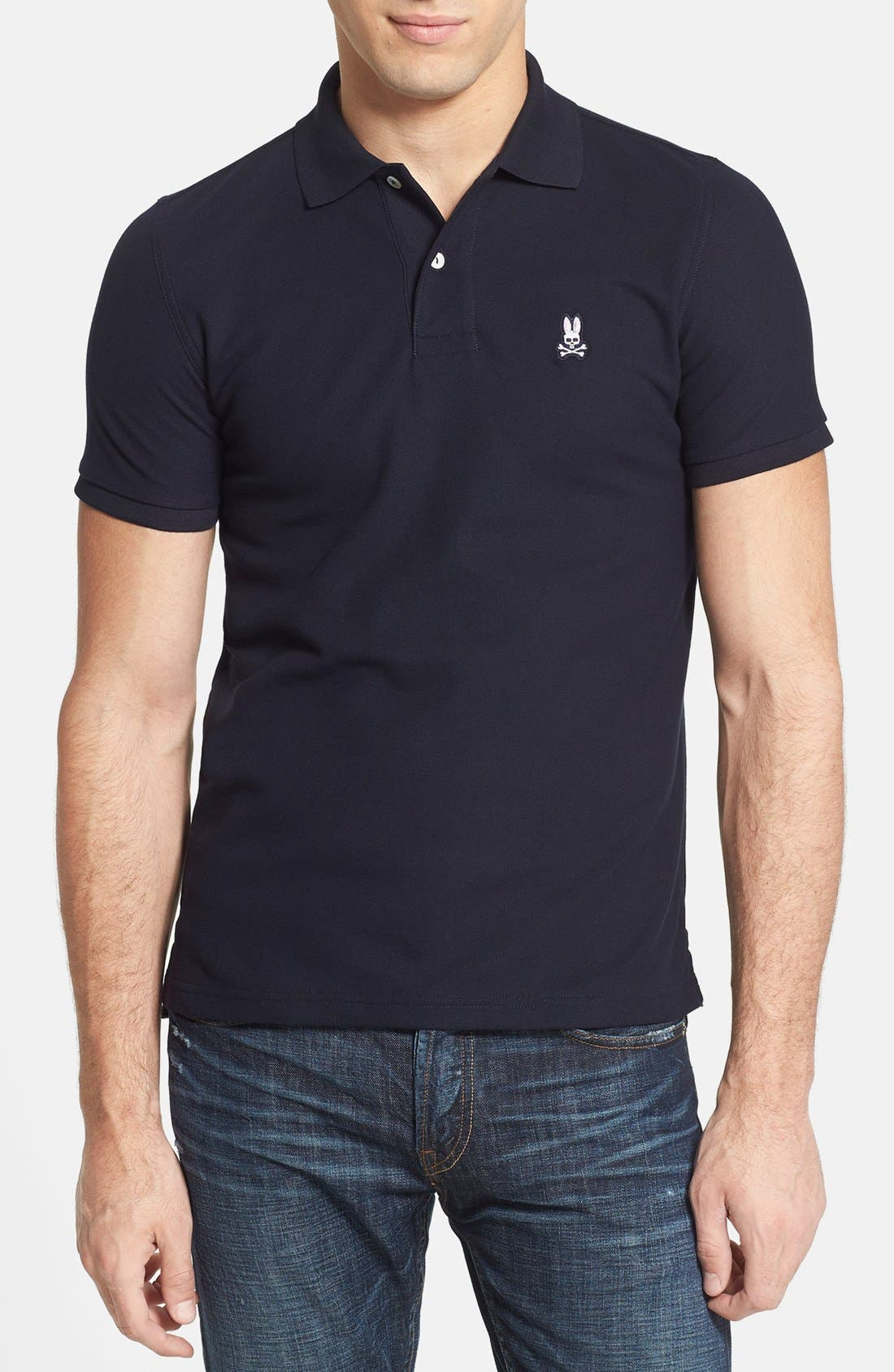 PSYCHO BUNNY The Classic Piqué Knit Polo