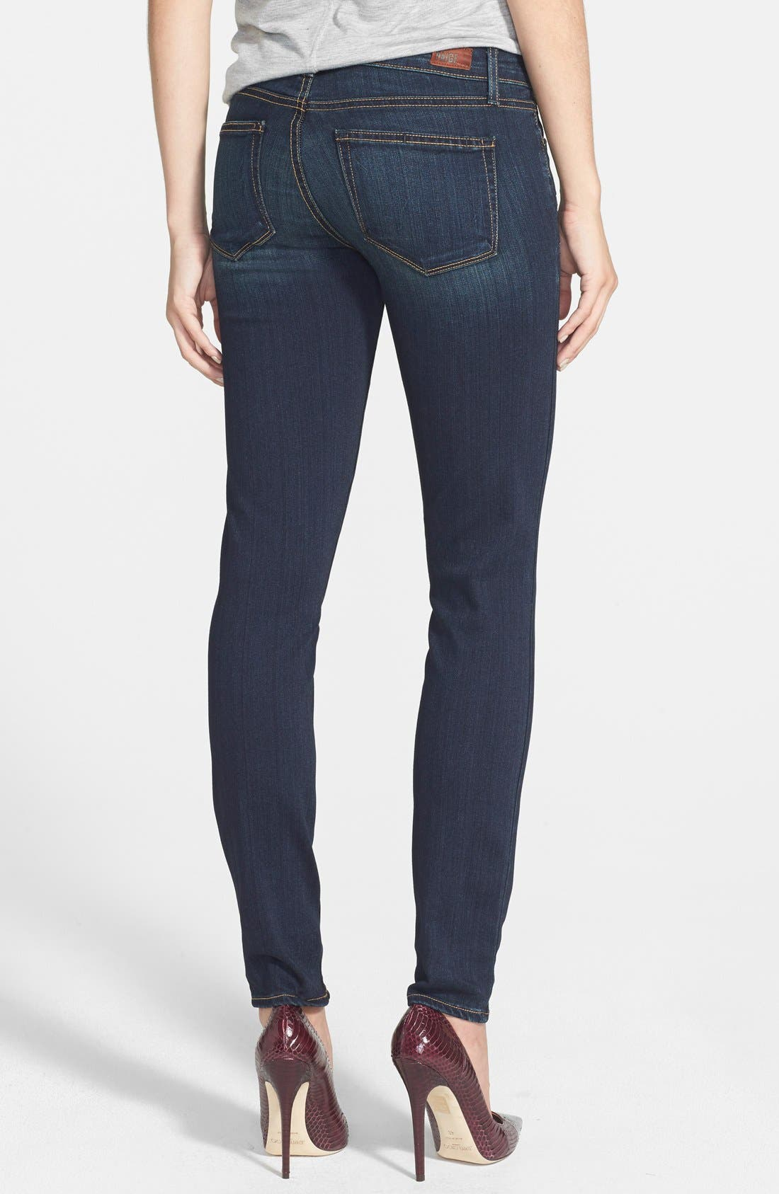 Alternate Image 2  - Paige Denim 'Edgemont' Ultra Skinny Jeans (Armstrong No Whiskers)