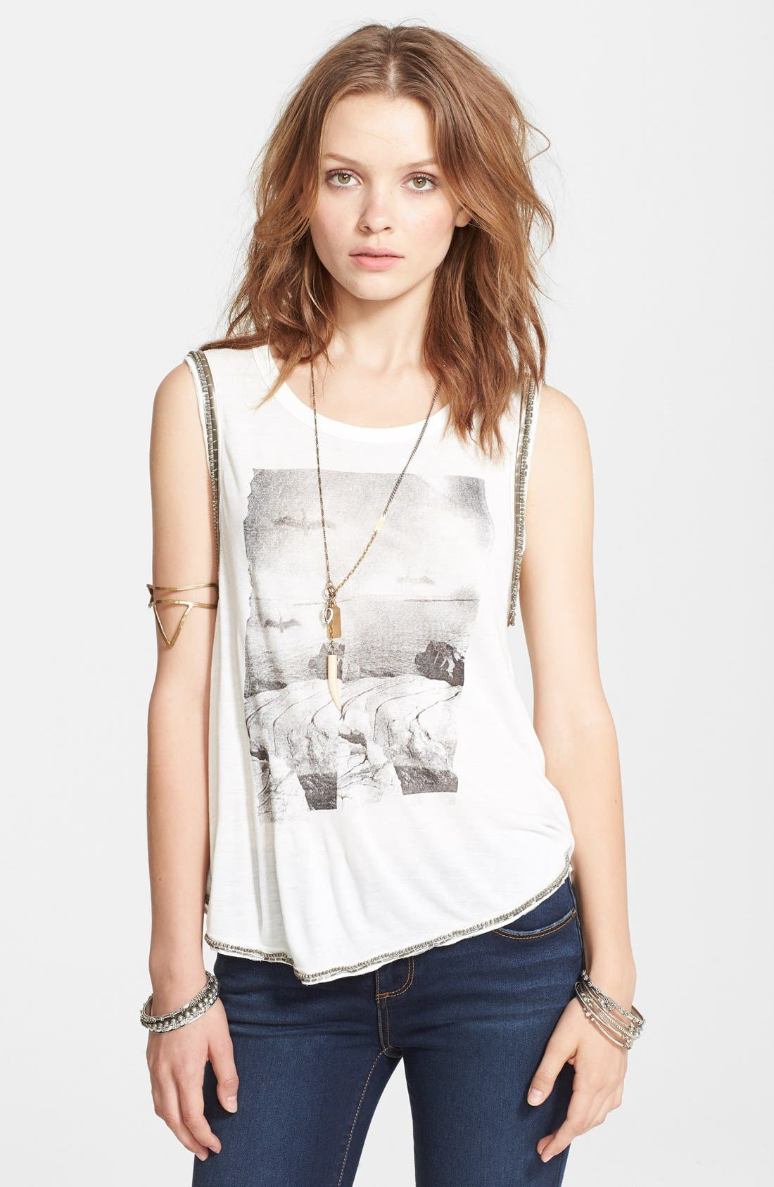 Alternate Image 1 Selected - Free People Rock Tank