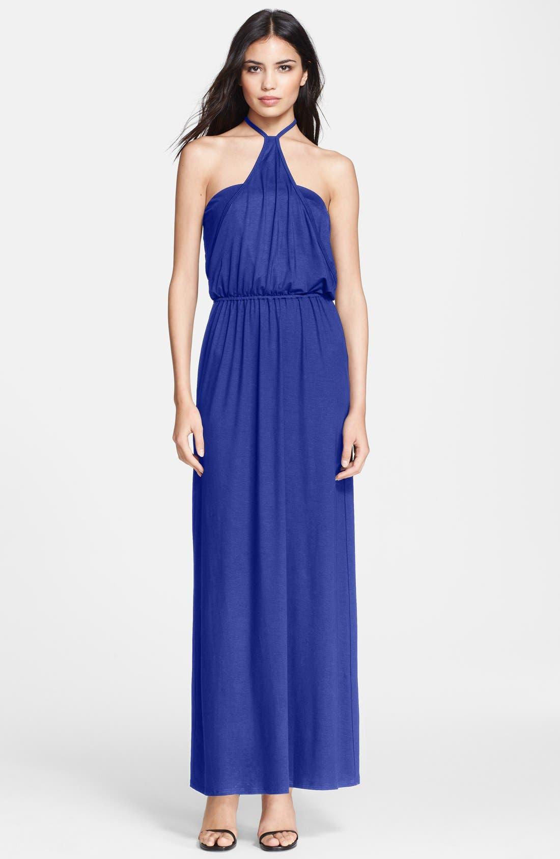 Alternate Image 1 Selected - Trina Turk 'Goldie' Jersey Maxi Dress
