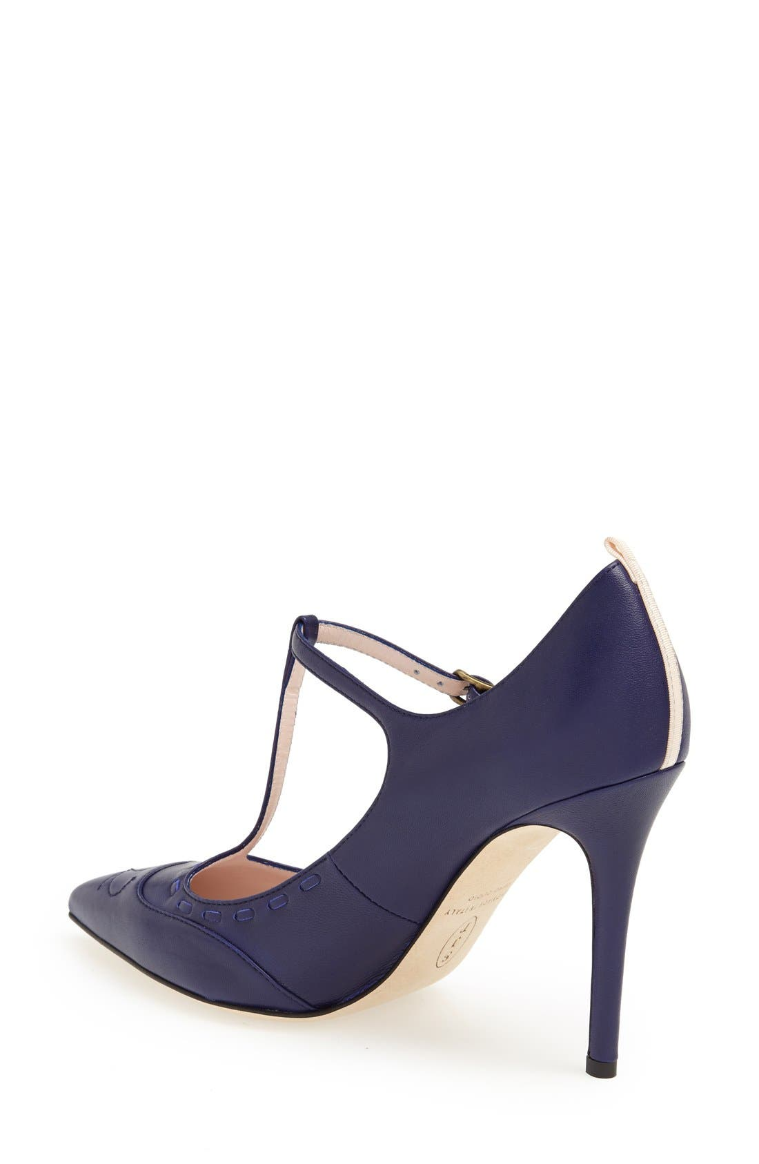 Alternate Image 2  - SJP 'Blythe' Leather T-Strap Mary Jane Pump (Women)