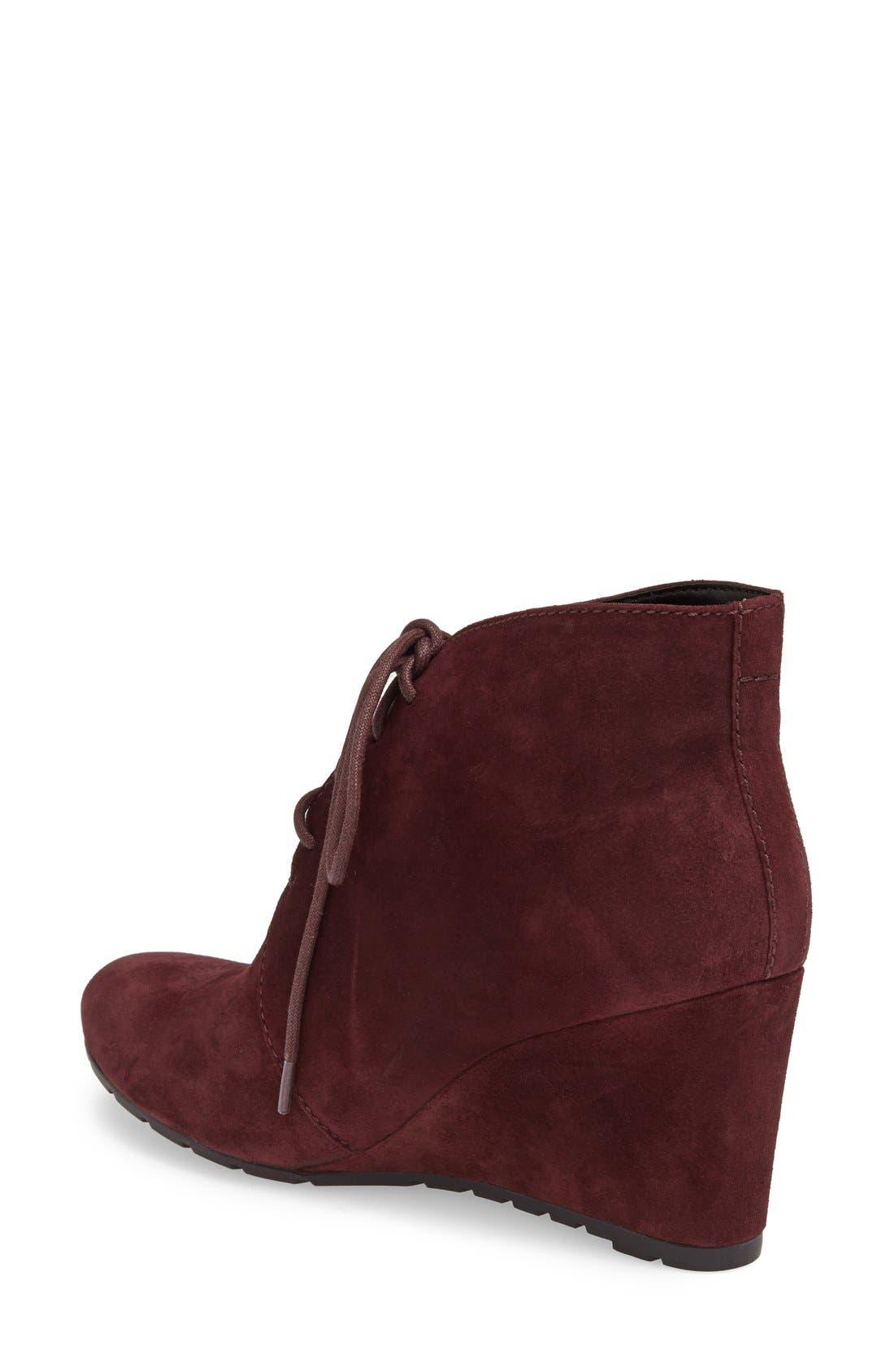Alternate Image 2  - Clarks® 'Rosepoint Dew' Suede Boot (Women)