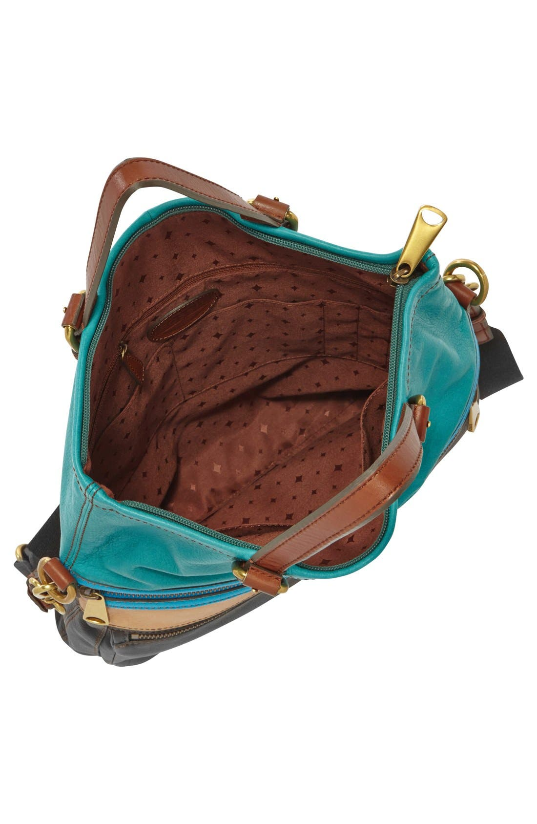 Alternate Image 2  - Fossil 'Explorer' Patchwork Convertible Tote