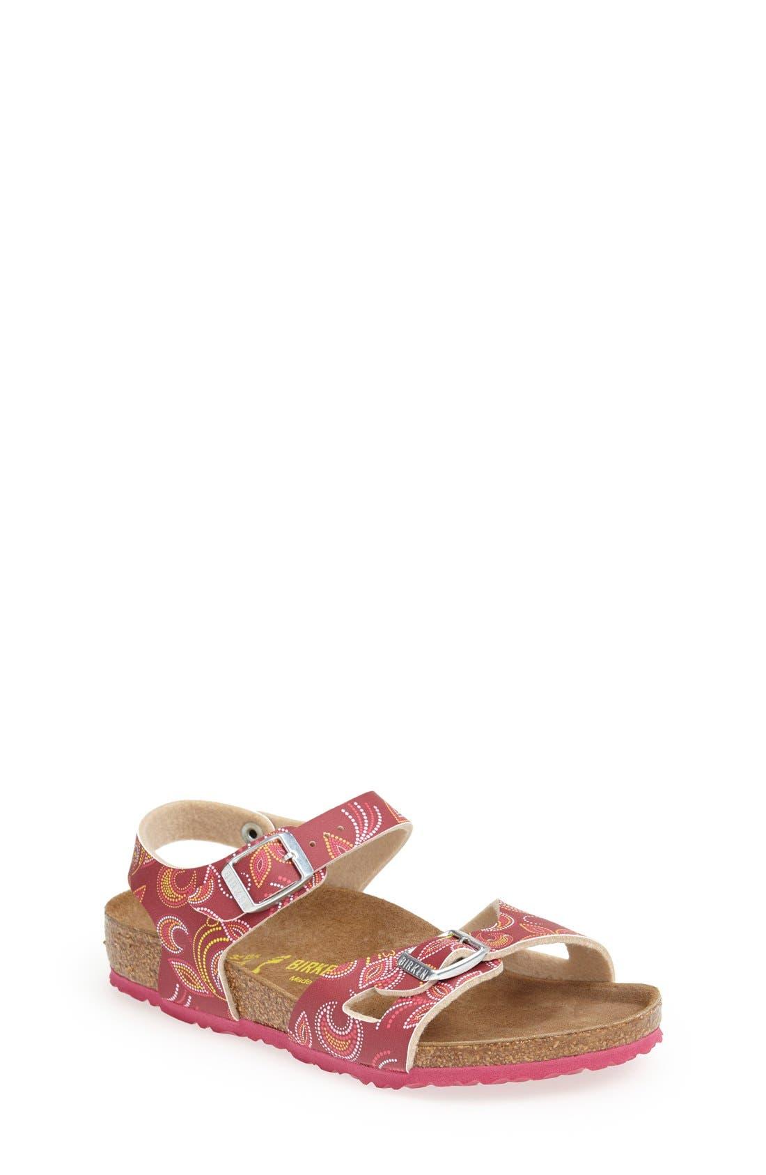 Main Image - Birkenstock 'Rio' Birko-Flor™ Sandal (Walker, Toddler & Little Kid)
