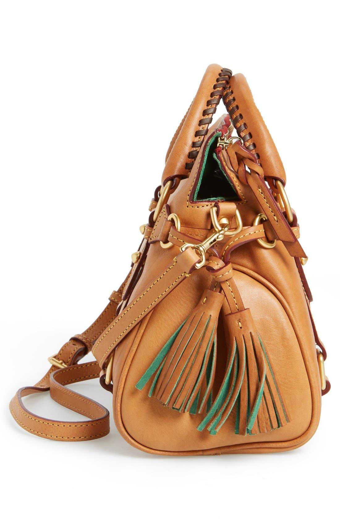 Alternate Image 4  - Dooney & Bourke 'Mini - Florentine Collection' Leather Satchel