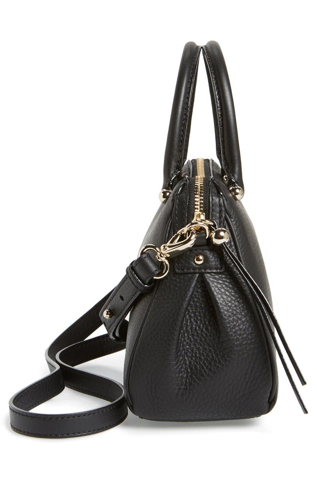 Alternate Image 2  - kate spade new york 'charles street - mini audrey' leather satchel