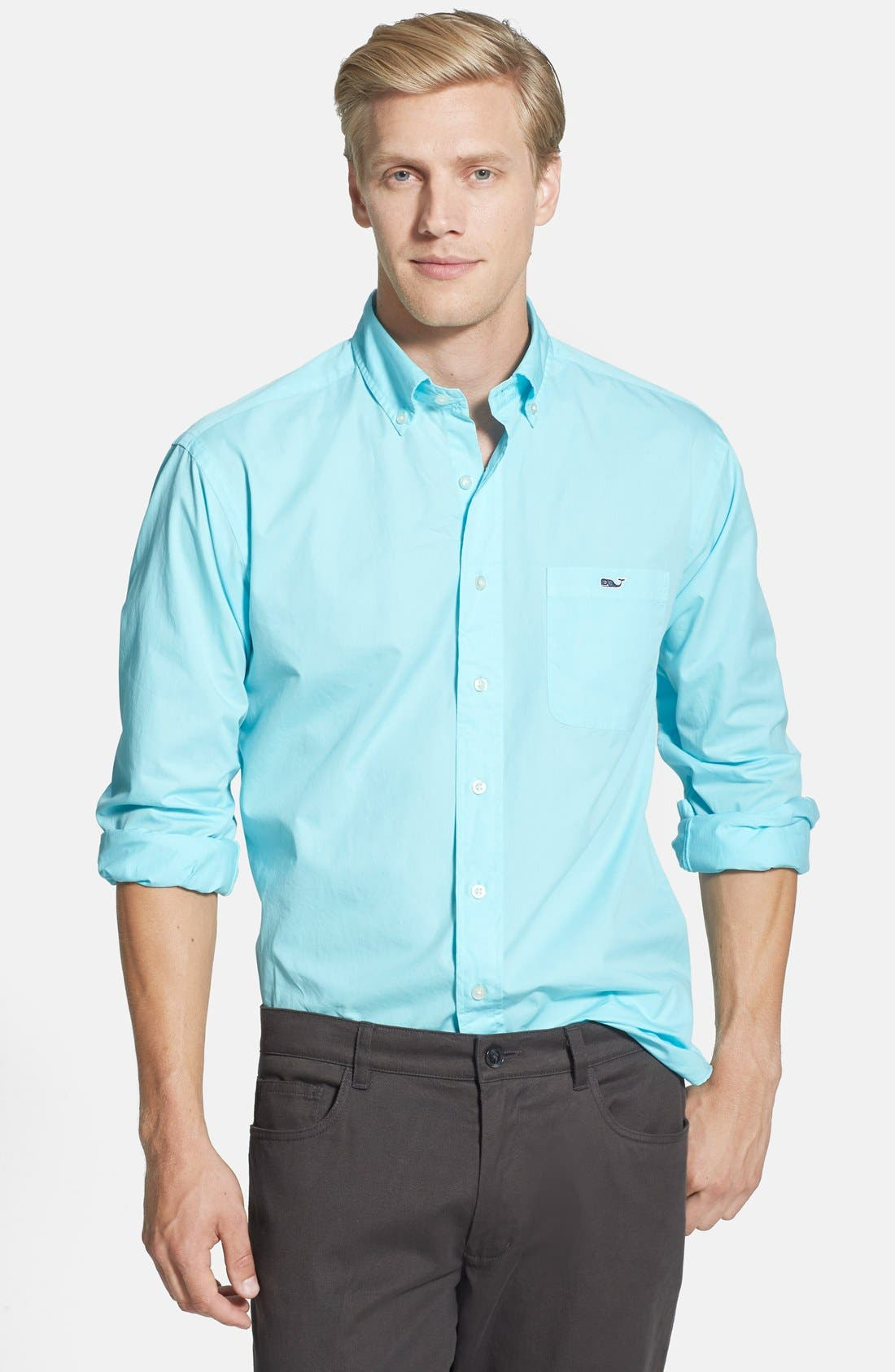 Alternate Image 1 Selected - Vineyard Vines 'Tucker - Harrington' Classic Fit Sport Shirt