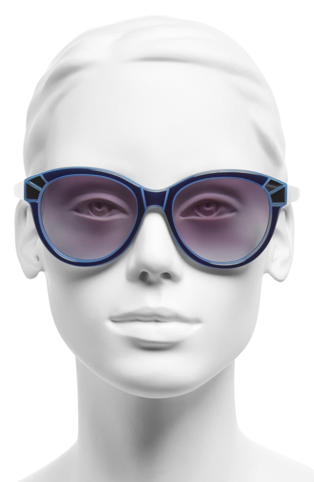 Alternate Image 2  - Furla 54mm Sunglasses