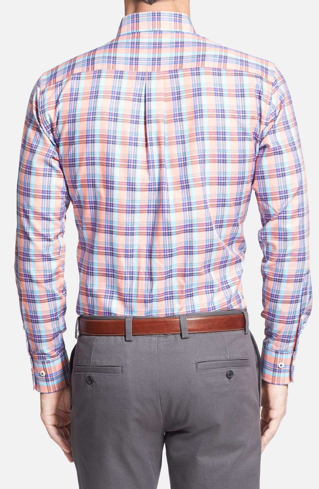 Alternate Image 3  - Peter Millar 'Carmel Pane' Regular Fit Sport Shirt