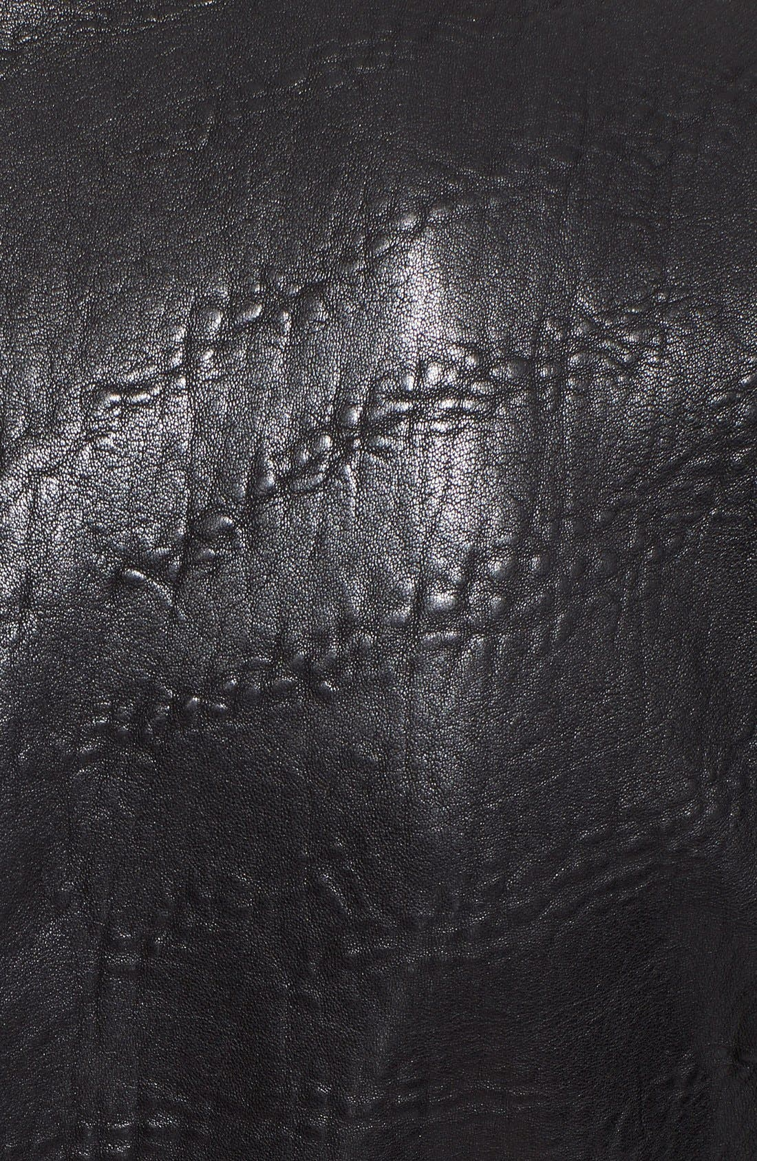 Alternate Image 4  - Veda 'Dallas' Embossed Leather Jacket