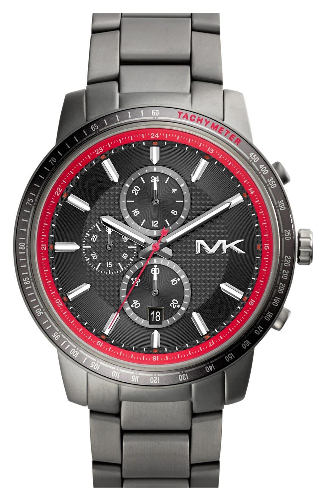 Alternate Image 1 Selected - Michael Kors 'Granger' Chronograph Bracelet Watch, 45mm