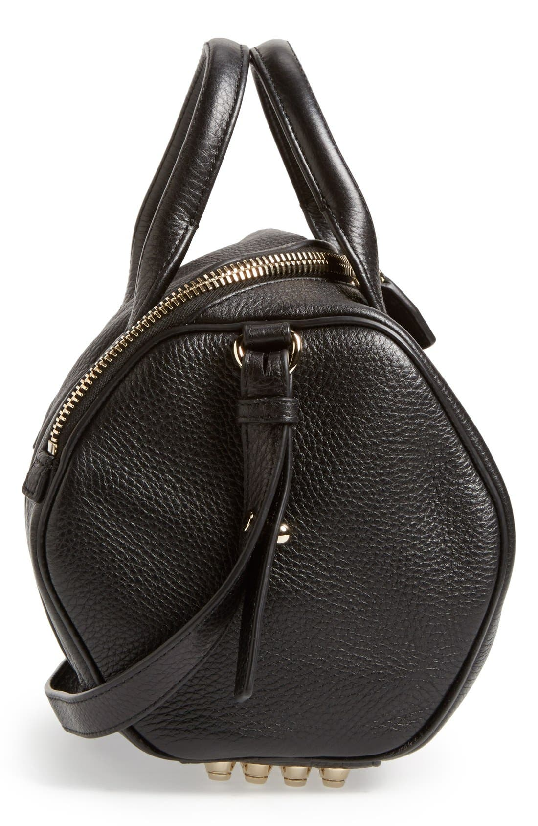 Alternate Image 5  - Alexander Wang 'Rockie - Pale Gold' Leather Crossbody Satchel