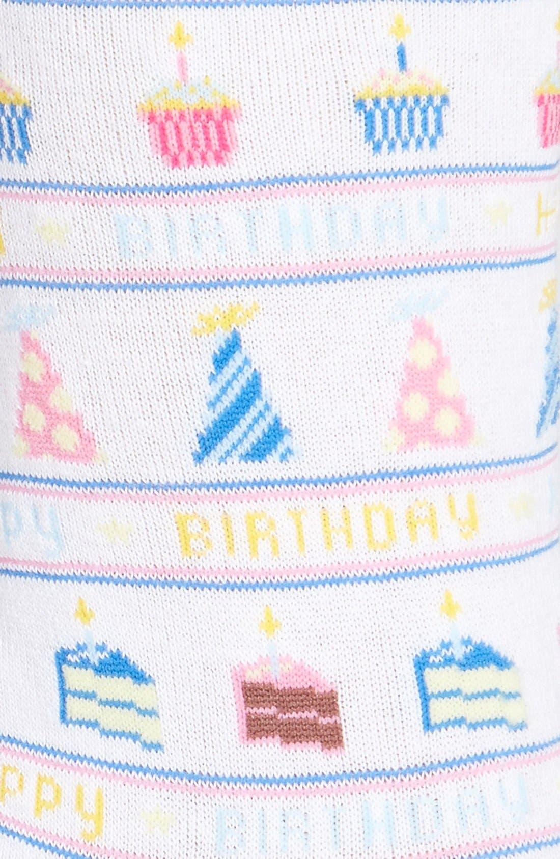 Alternate Image 2  - Hot Sox 'Happy Birthday' Trouser Socks (3 for $15)