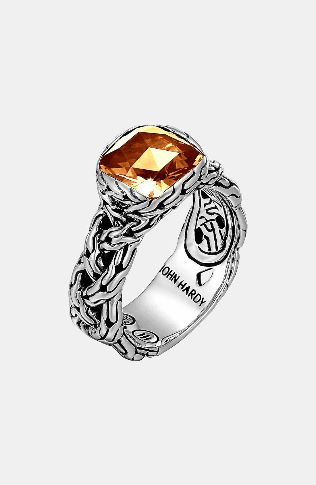 Alternate Image 1 Selected - John Hardy 'Classic Chain - Batu' Small Braided Ring