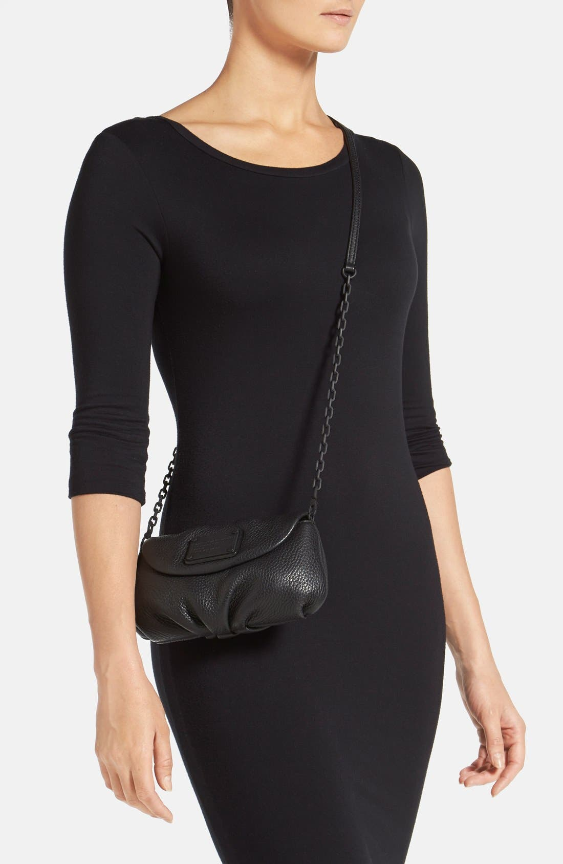 Alternate Image 2  - MARC BY MARC JACOBS 'Electro Q - Karlie' Leather Crossbody Bag