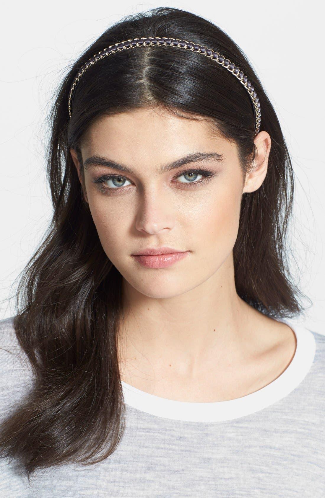Main Image - Cara 'Glam Chain' Headband