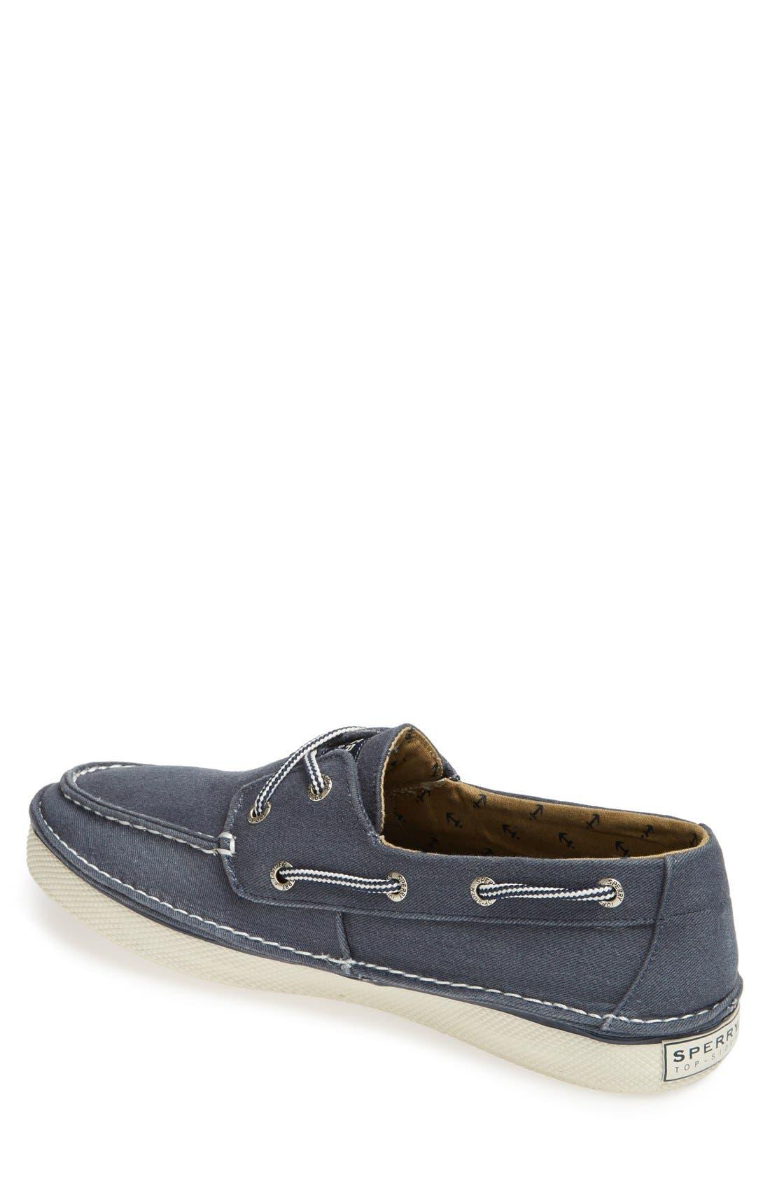 Alternate Image 2  - Sperry 'Cruz' Canvas Boat Shoe (Men)