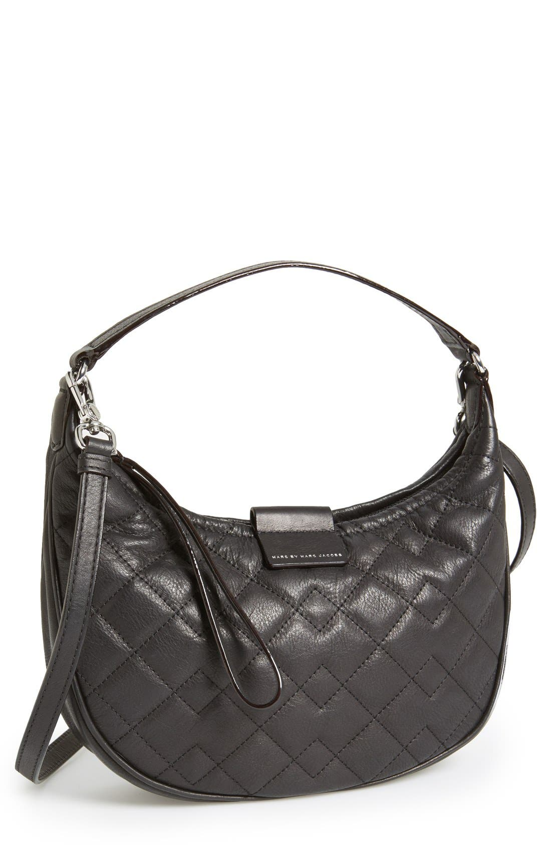 Alternate Image 1 Selected - MARC BY MARC JACOBS 'Tiny Banana' Italian Leather Hobo