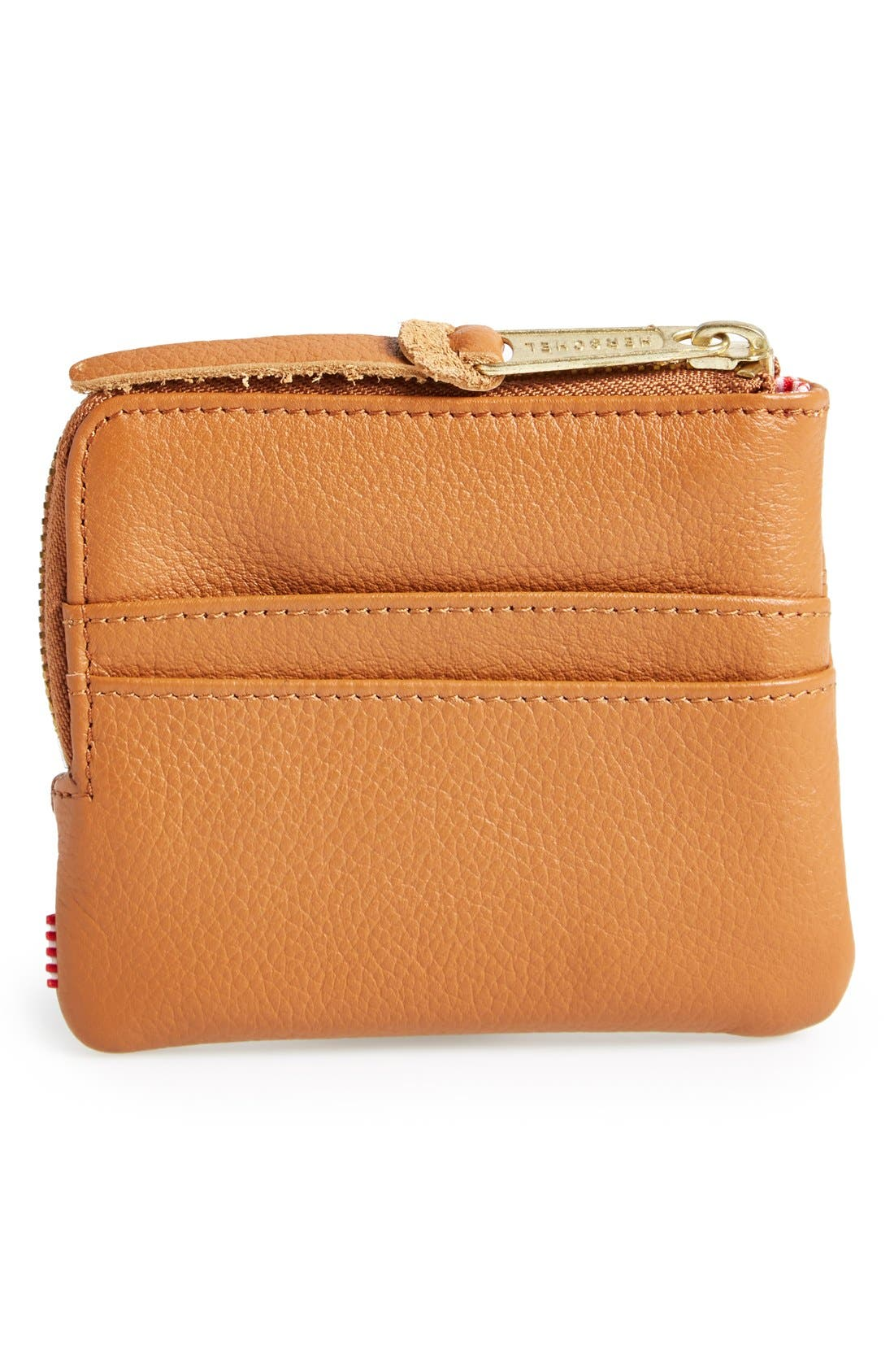 Alternate Image 3  - Herschel Supply Co. 'Johnny' Half Zip Leather Wallet