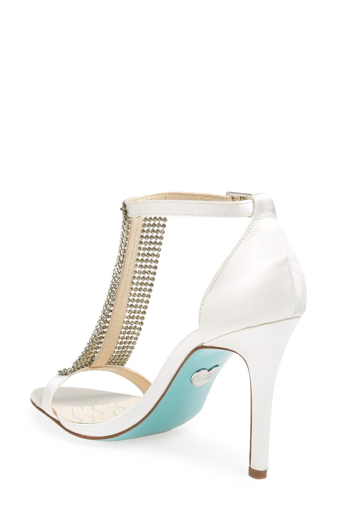 Alternate Image 2  - Blue by Betsey Johnson 'Mesh' Sandal (Women)
