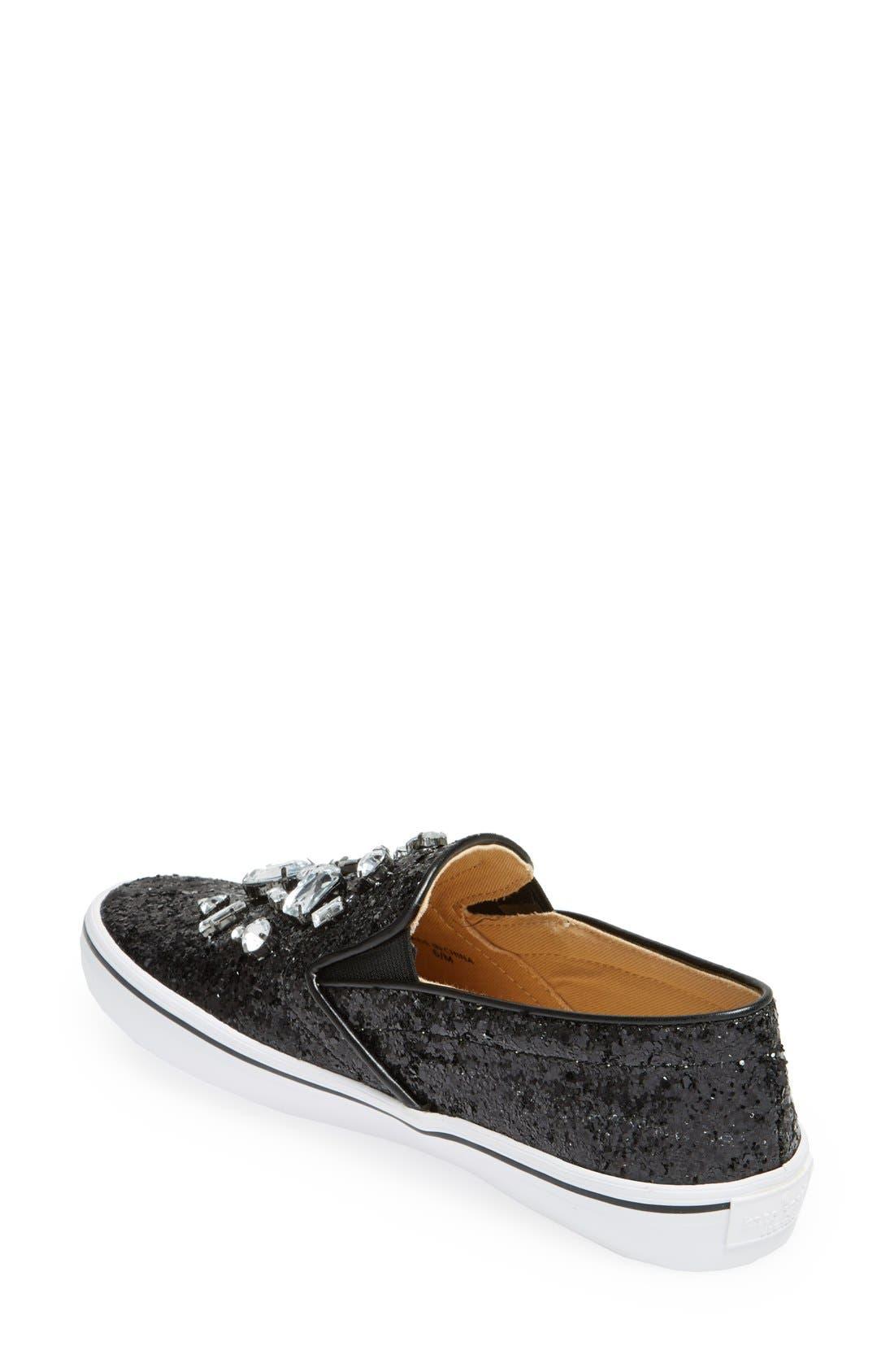 Alternate Image 2  - kate spade new york 'slater' slip-on sneaker (Women)