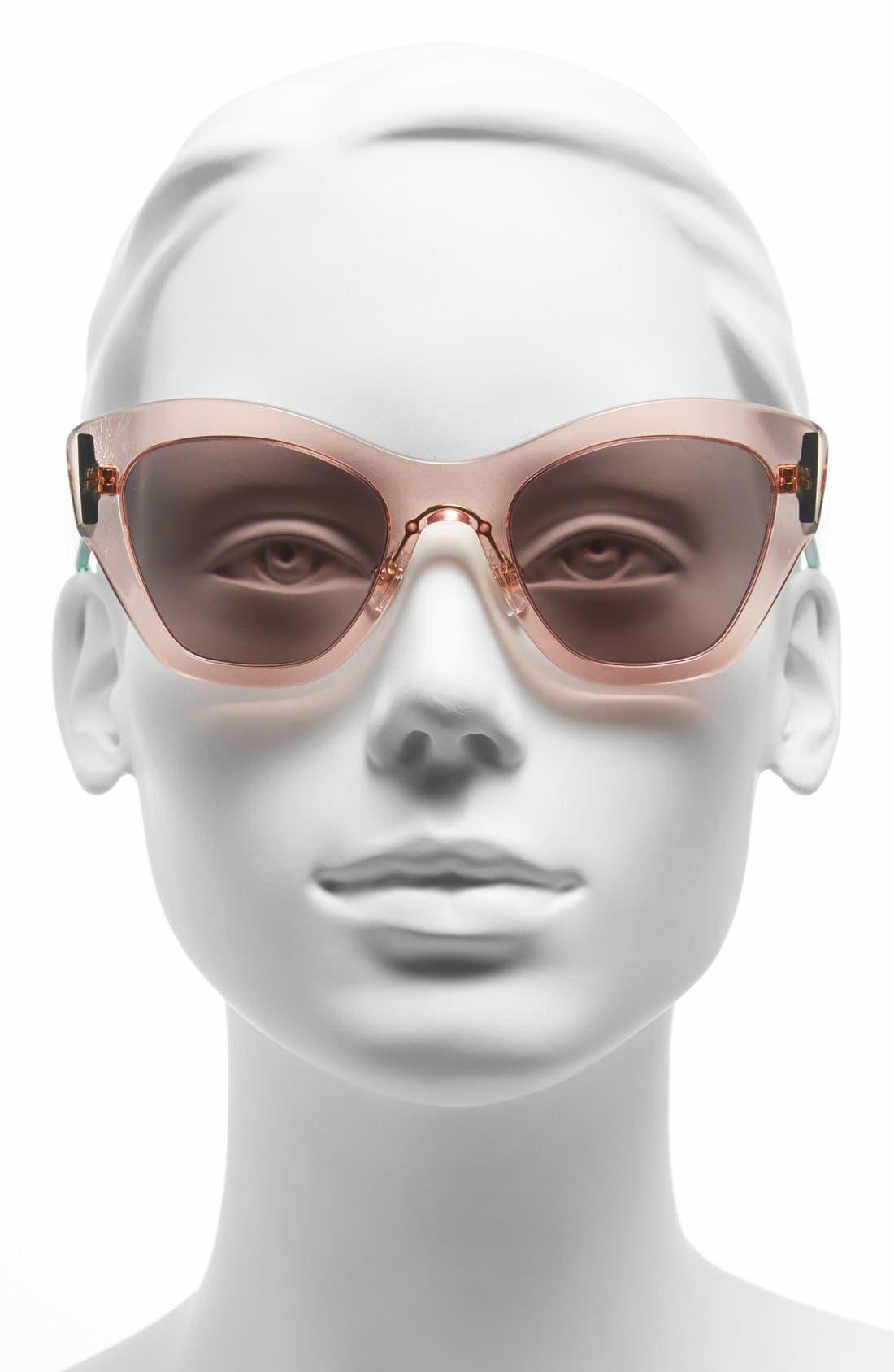 Alternate Image 2  - Miu Miu 52mm Cat Eye Sunglasses