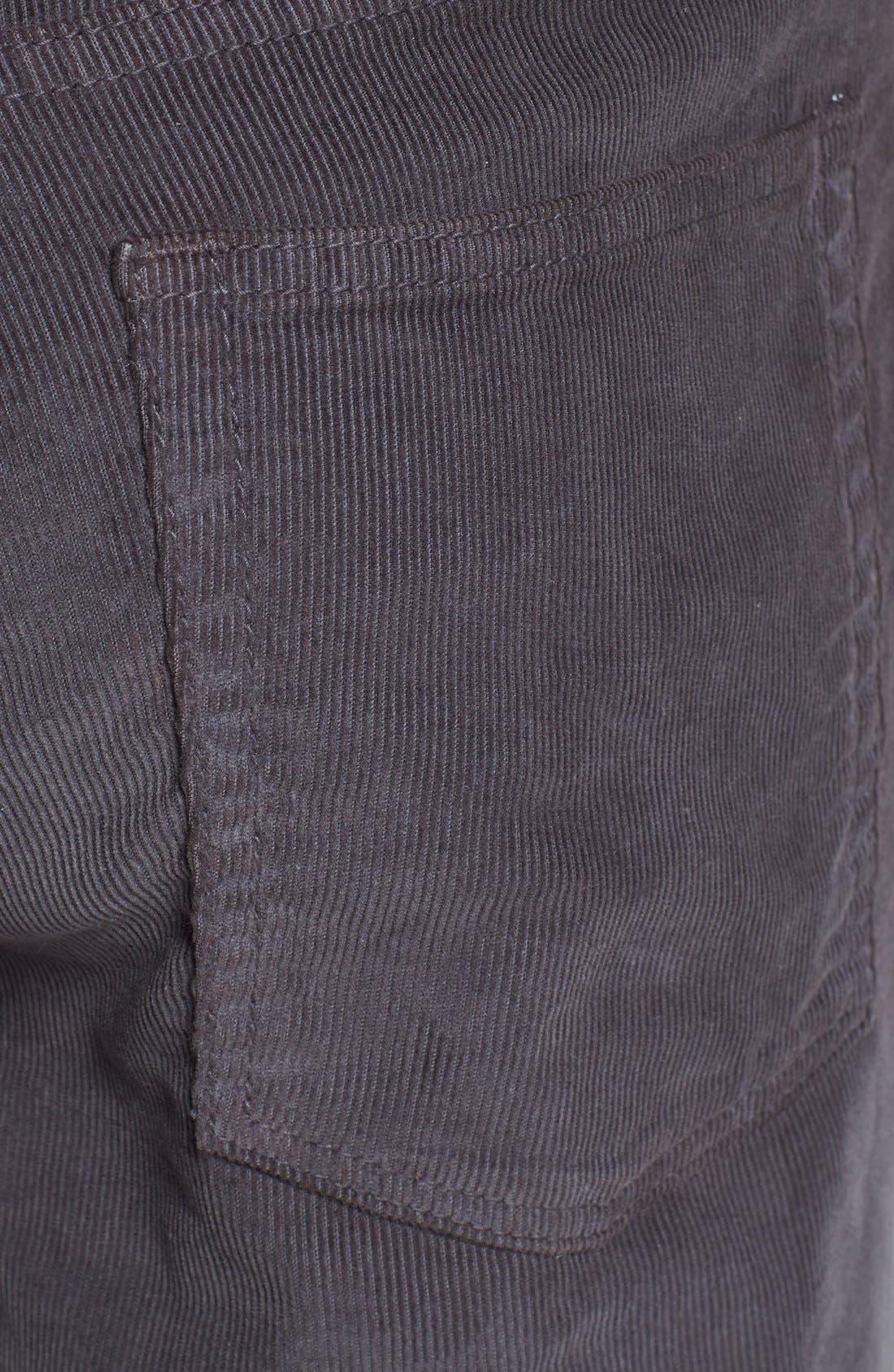 Alternate Image 3  - Bonobos Straight Leg Five-Pocket Corduroy Pants