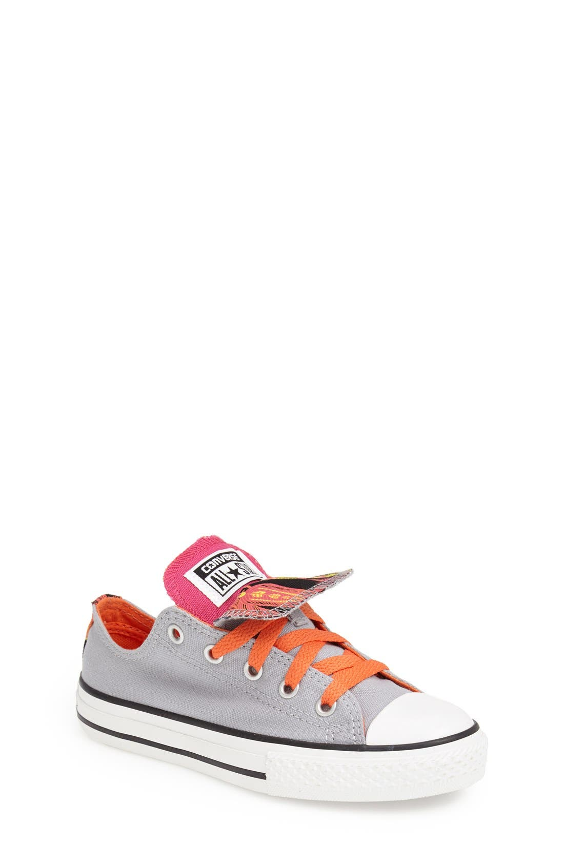 Alternate Image 1 Selected - Converse Chuck Taylor® Double Tongue Sneaker (Baby, Walker, Toddler, Little Kid & Big Kid)