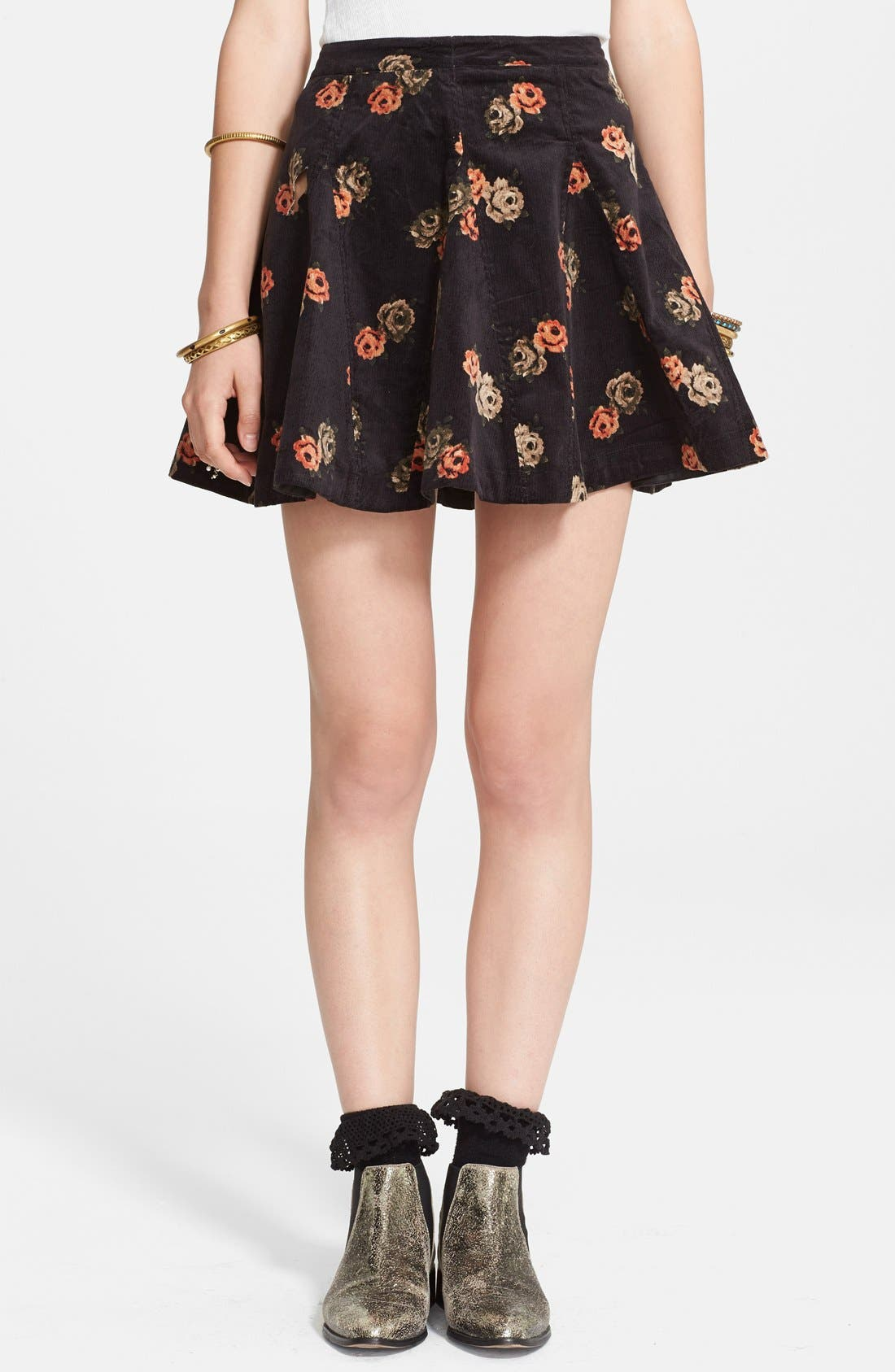 Alternate Image 1 Selected - Free People 'Good Day Sunshine' Skirt