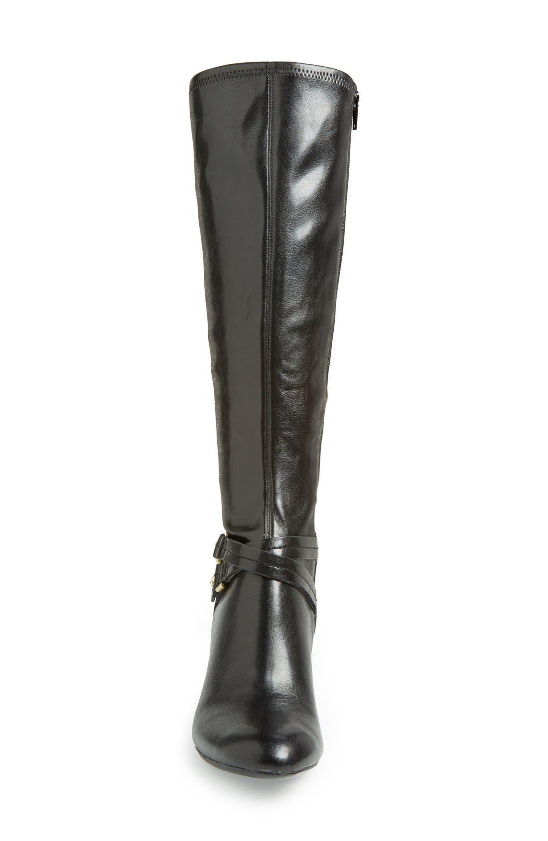 Alternate Image 3  - Naturalizer 'Byron' Knee High Boot (Women)(Wide Calf)