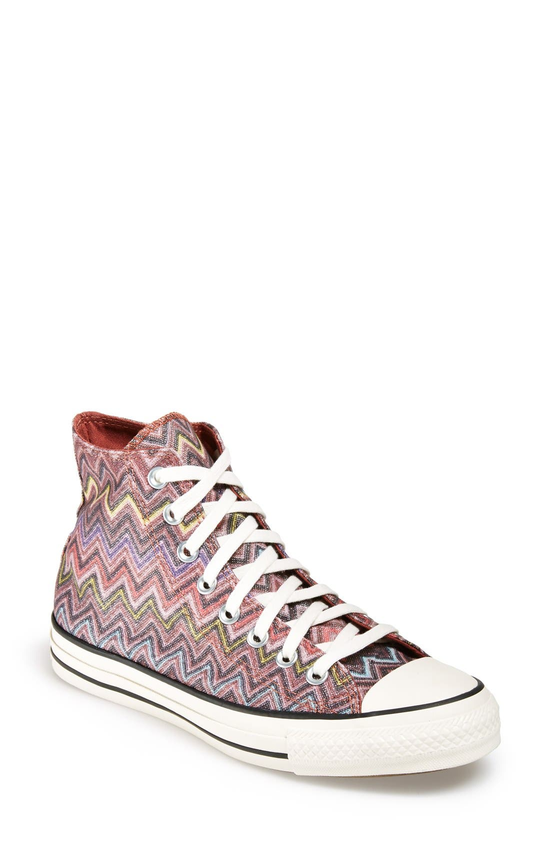 Main Image - Converse x Missoni Chuck Taylor® All Star® High Top Sneaker (Women)