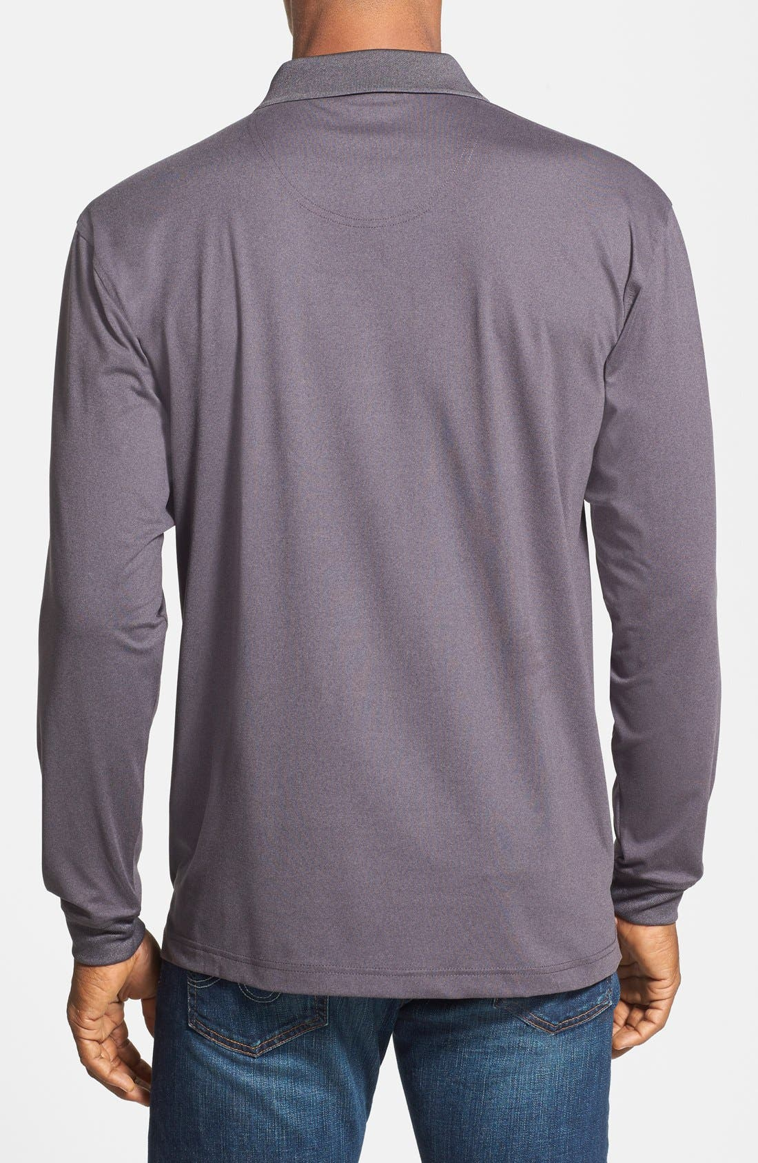 Alternate Image 2  - Lone Cypress Long Sleeve Tech Knit Polo