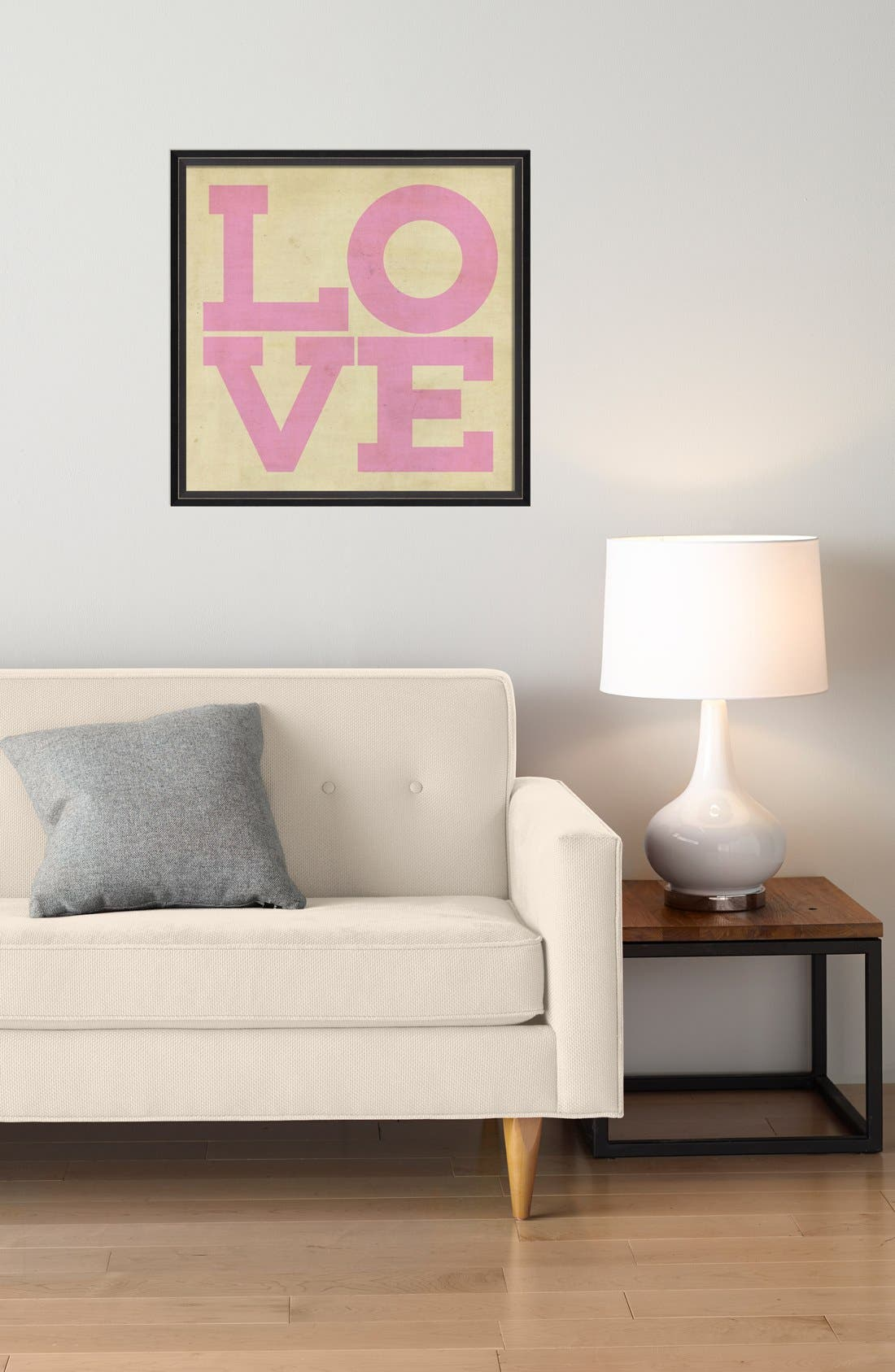 Alternate Image 2  - Spicher and Company 'Love' Vintage Look Sign Artwork