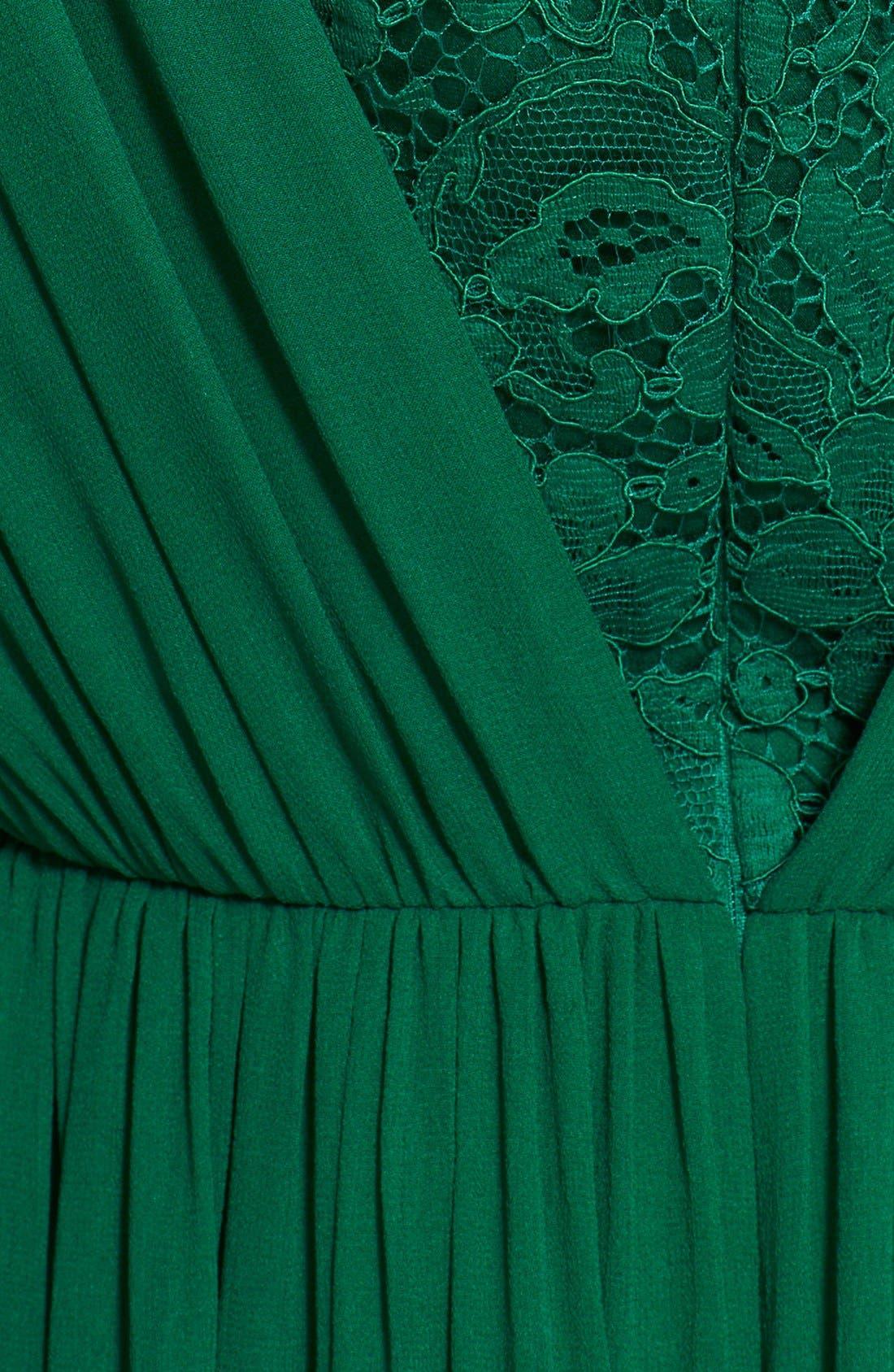 Alternate Image 3  - St. John Collection Silk Chiffon Gown