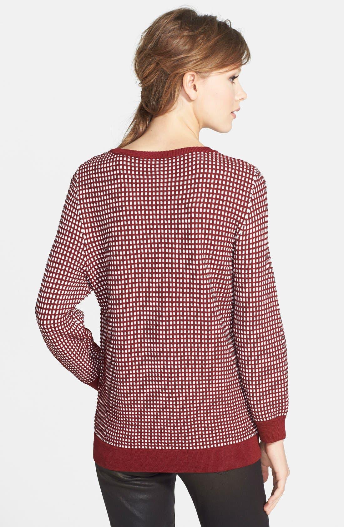 Alternate Image 2  - Dex Jacquard Sweater