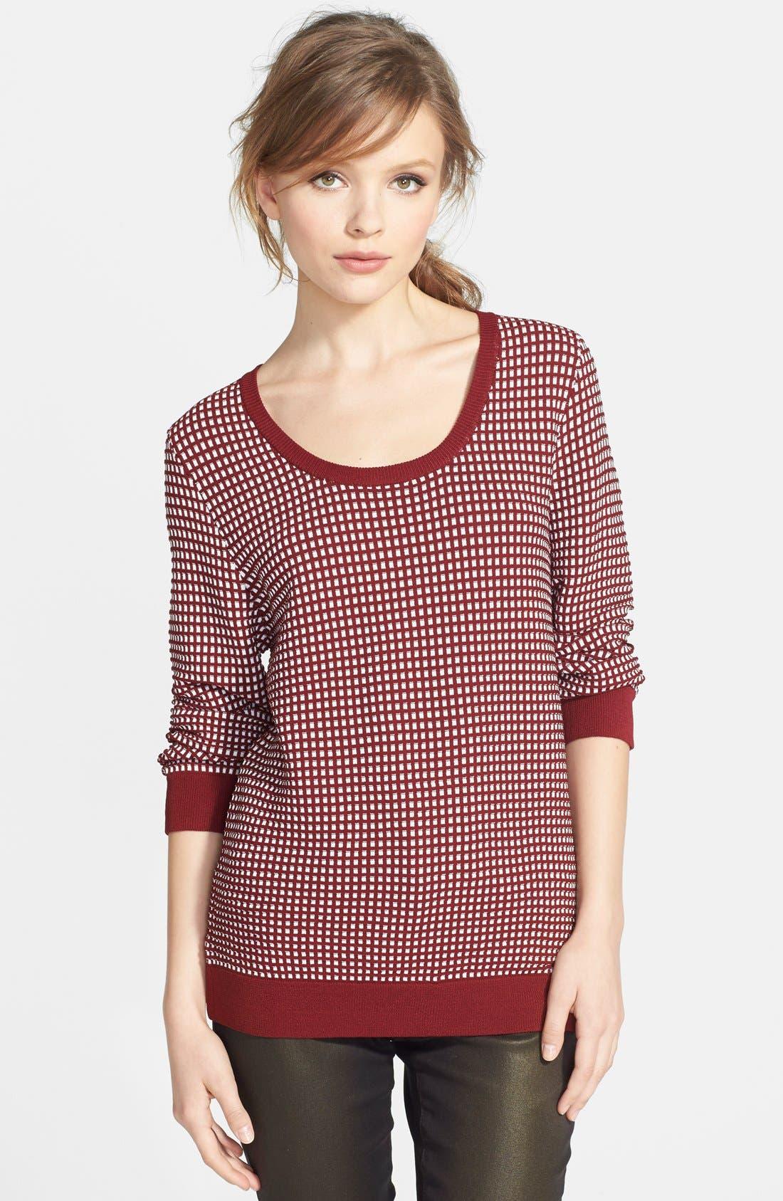 Alternate Image 1 Selected - Dex Jacquard Sweater