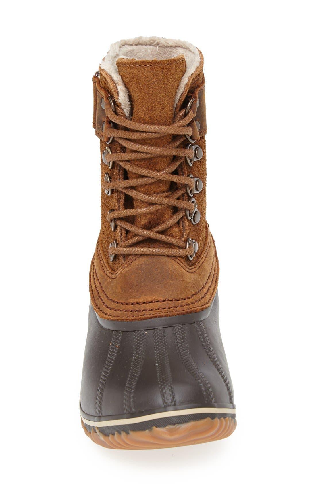 Alternate Image 3  - SOREL 'Winter Fancy II' Waterproof Lace-Up Boot (Women)