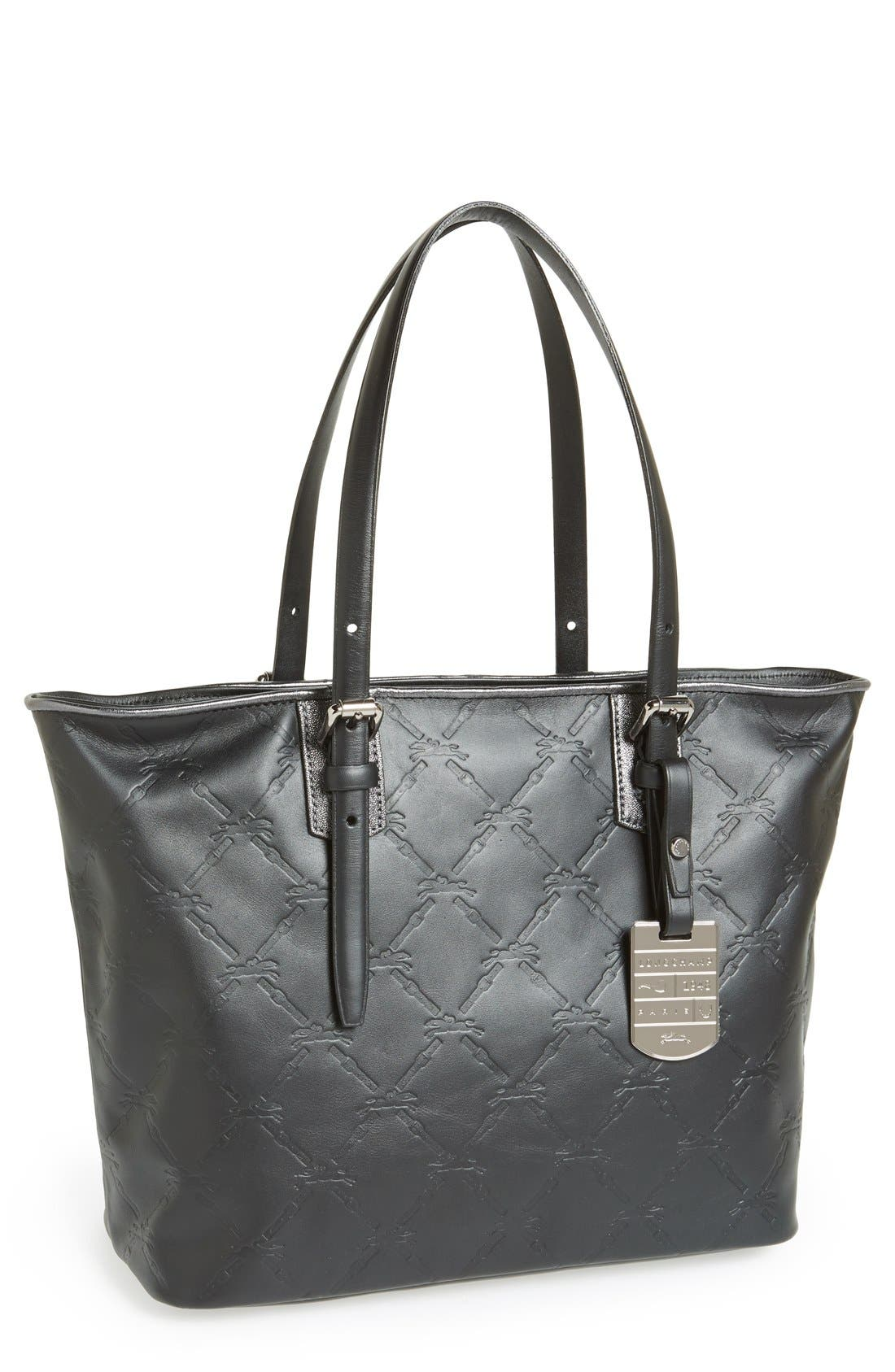 Alternate Image 1 Selected - Longchamp 'Medium LM Cuir' Leather Tote