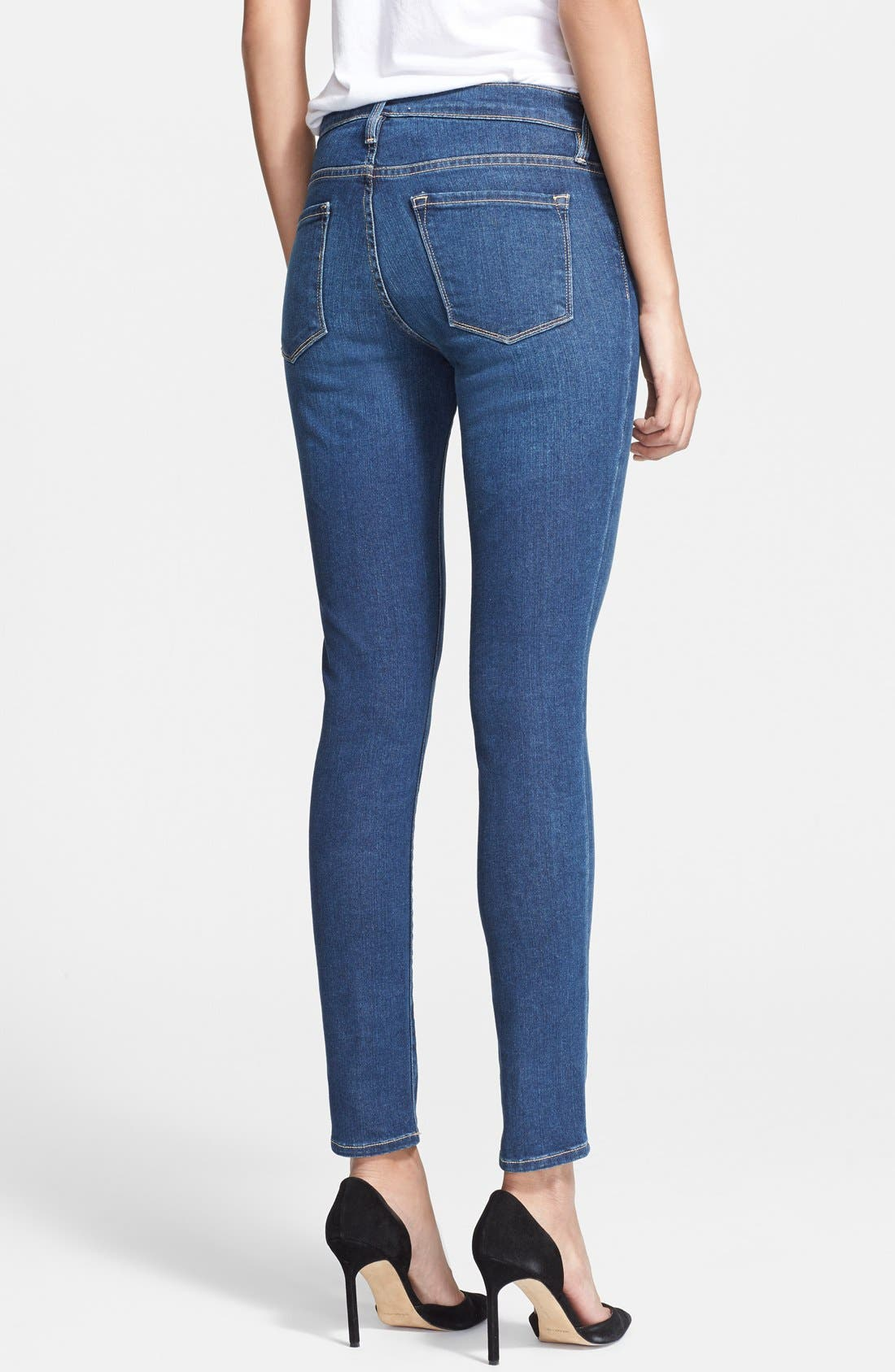 Alternate Image 2  - Frame Denim 'Le Skinny de Jeanne' Jeans (Columbia Road)