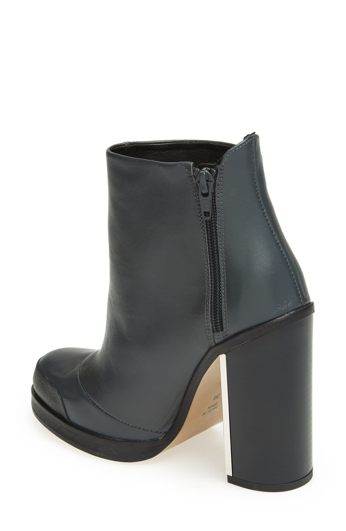 Alternate Image 2  - Topshop 'Haunt' Metal Plate Ankle Bootie (Women)